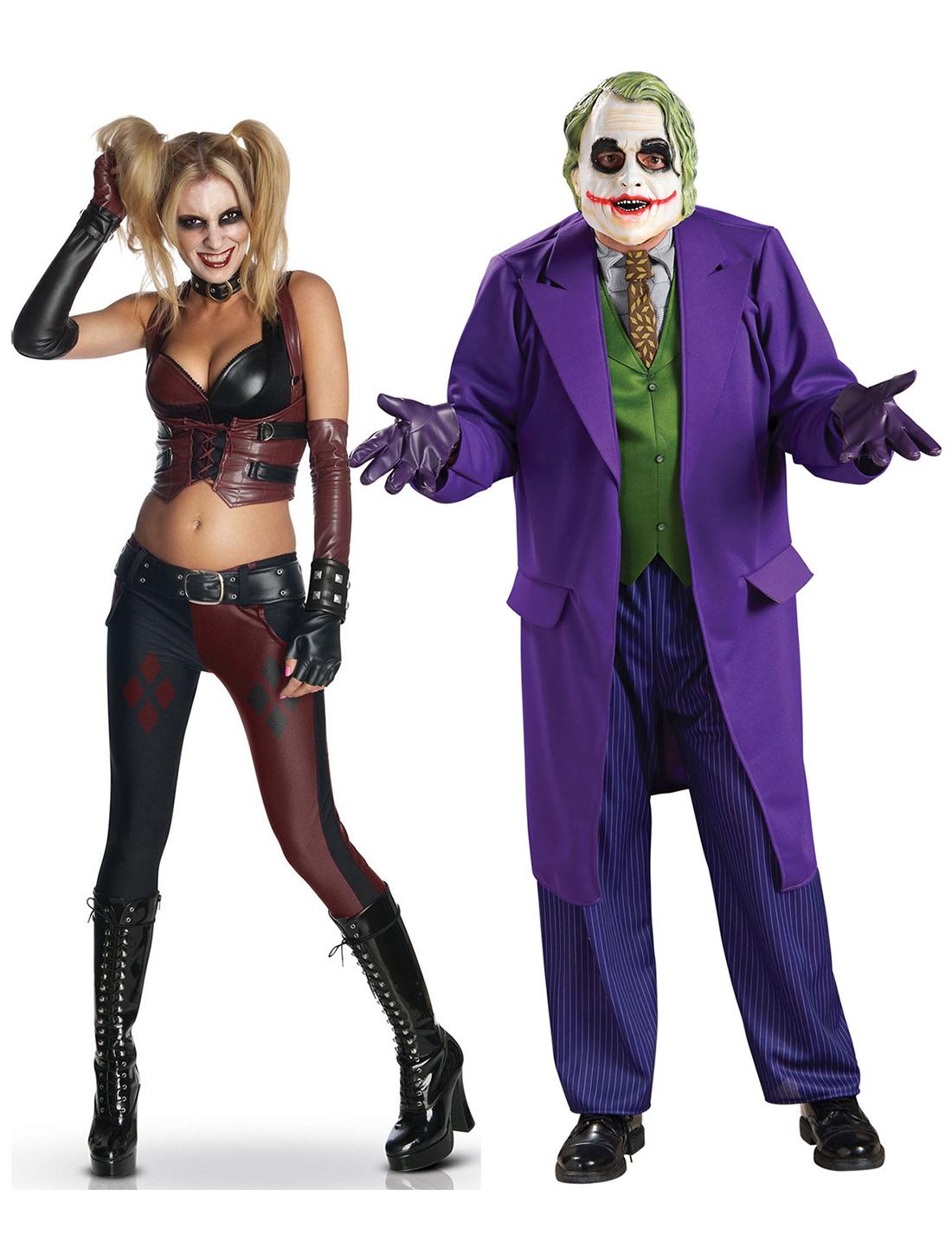 joker harley quinn kostum set fur paare