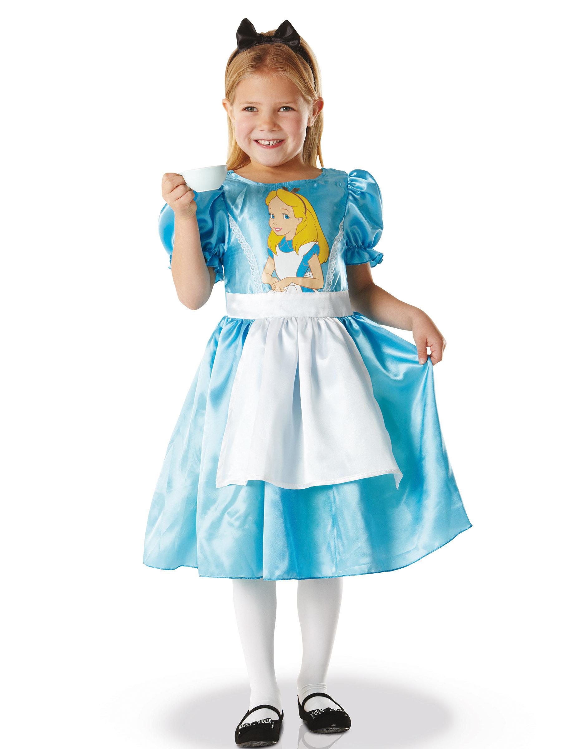 Alice im Wunderland Kostüm für Erwachsene