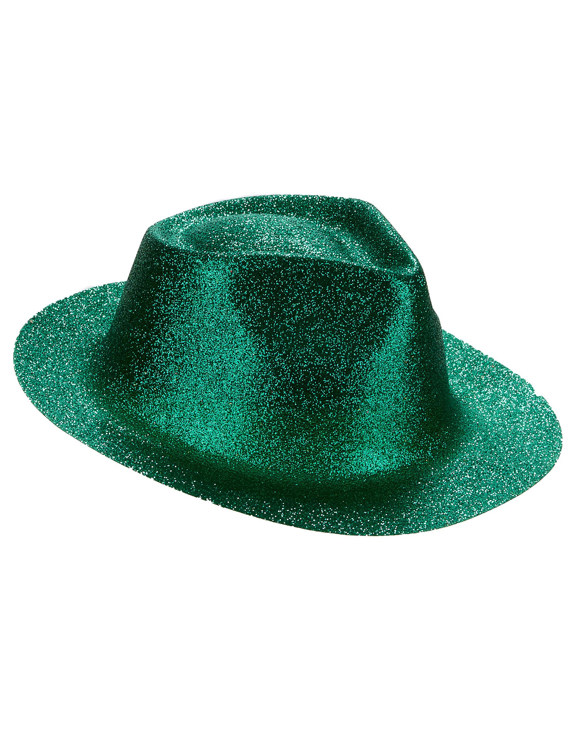 Glitzernder Erwachsenen Hut Grun Hute Und Gunstige Faschingskostume