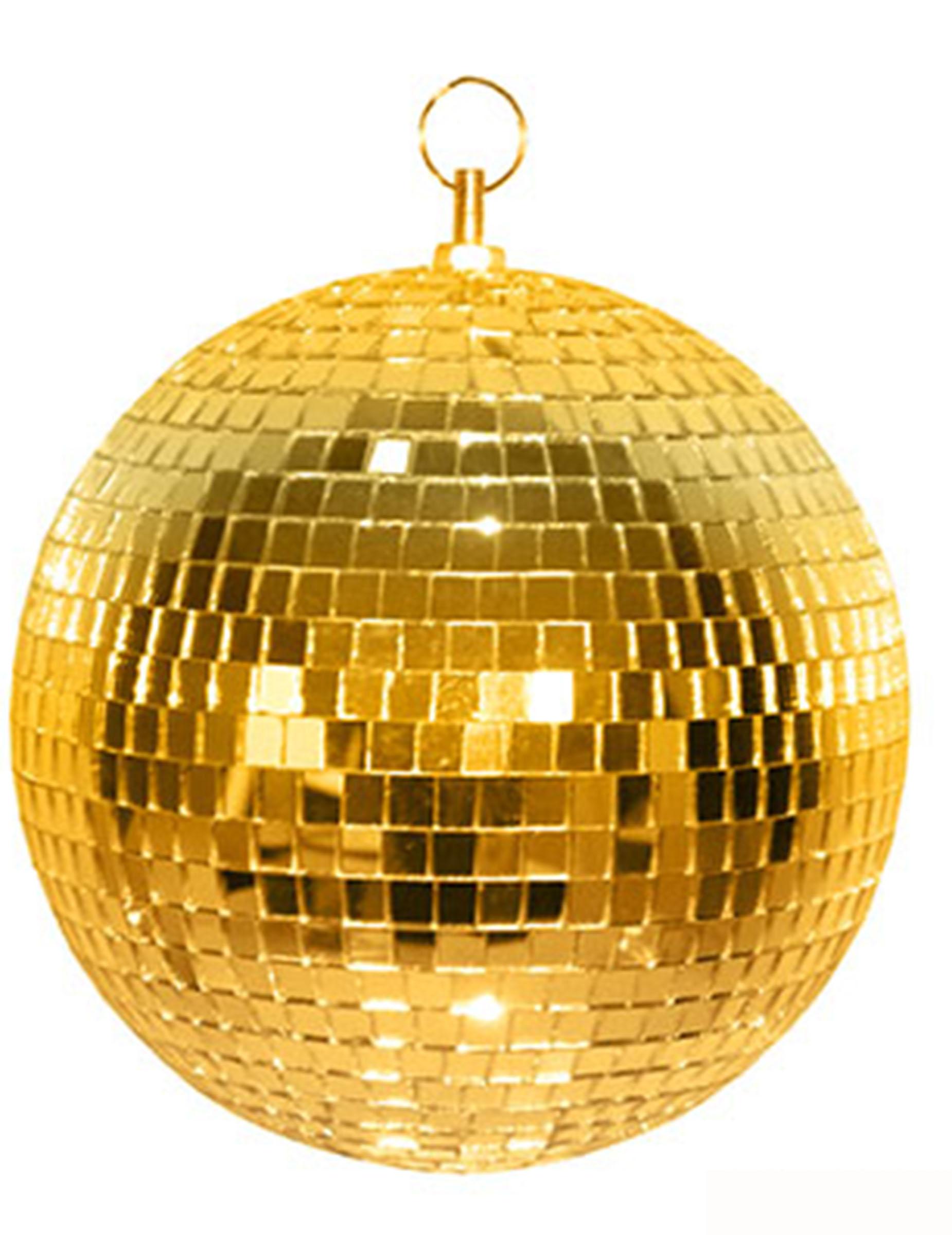 discokugel gold partydeko und g nstige faschingskost me. Black Bedroom Furniture Sets. Home Design Ideas