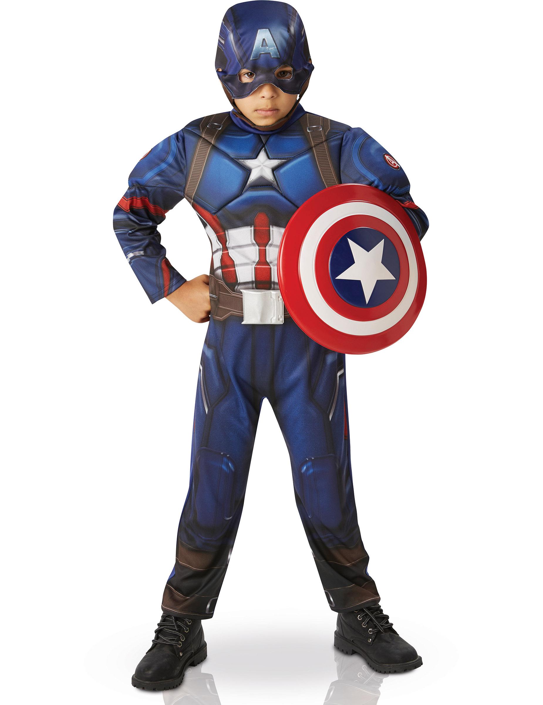 captain america superheldenkost m f r kinder. Black Bedroom Furniture Sets. Home Design Ideas