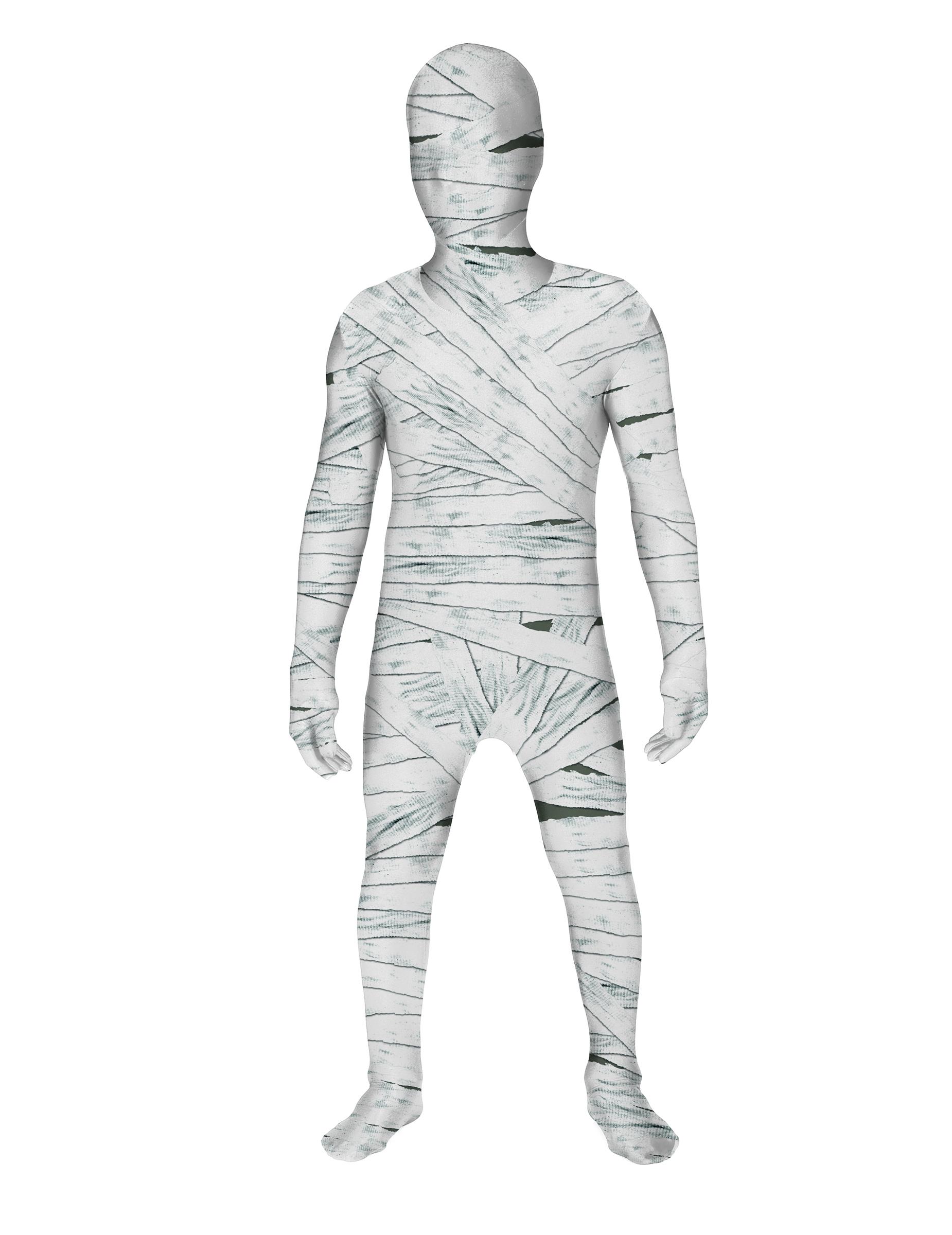 morphsuits mumien kinderkost m f r halloween. Black Bedroom Furniture Sets. Home Design Ideas