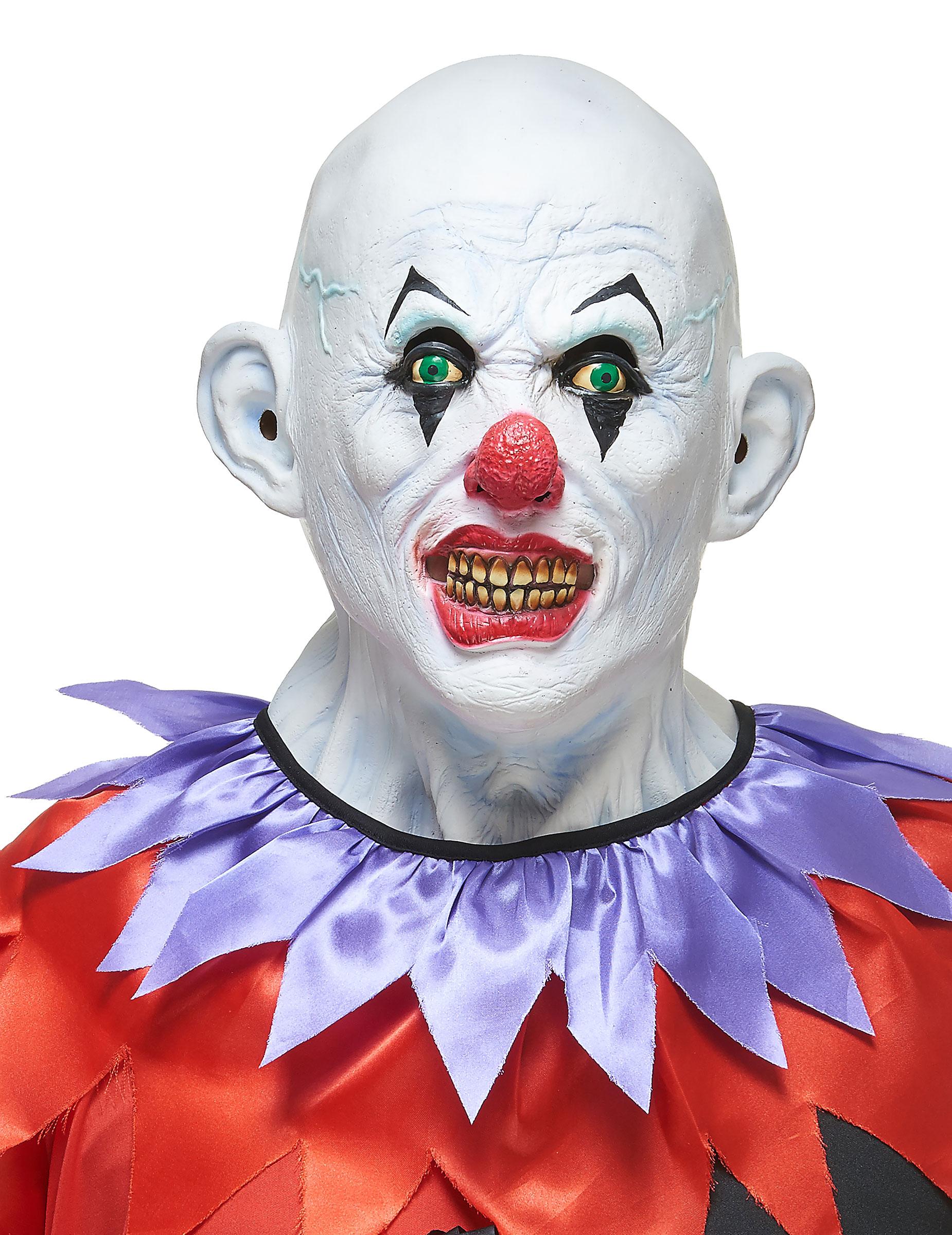 Gruseliger Clown-Maske 155192