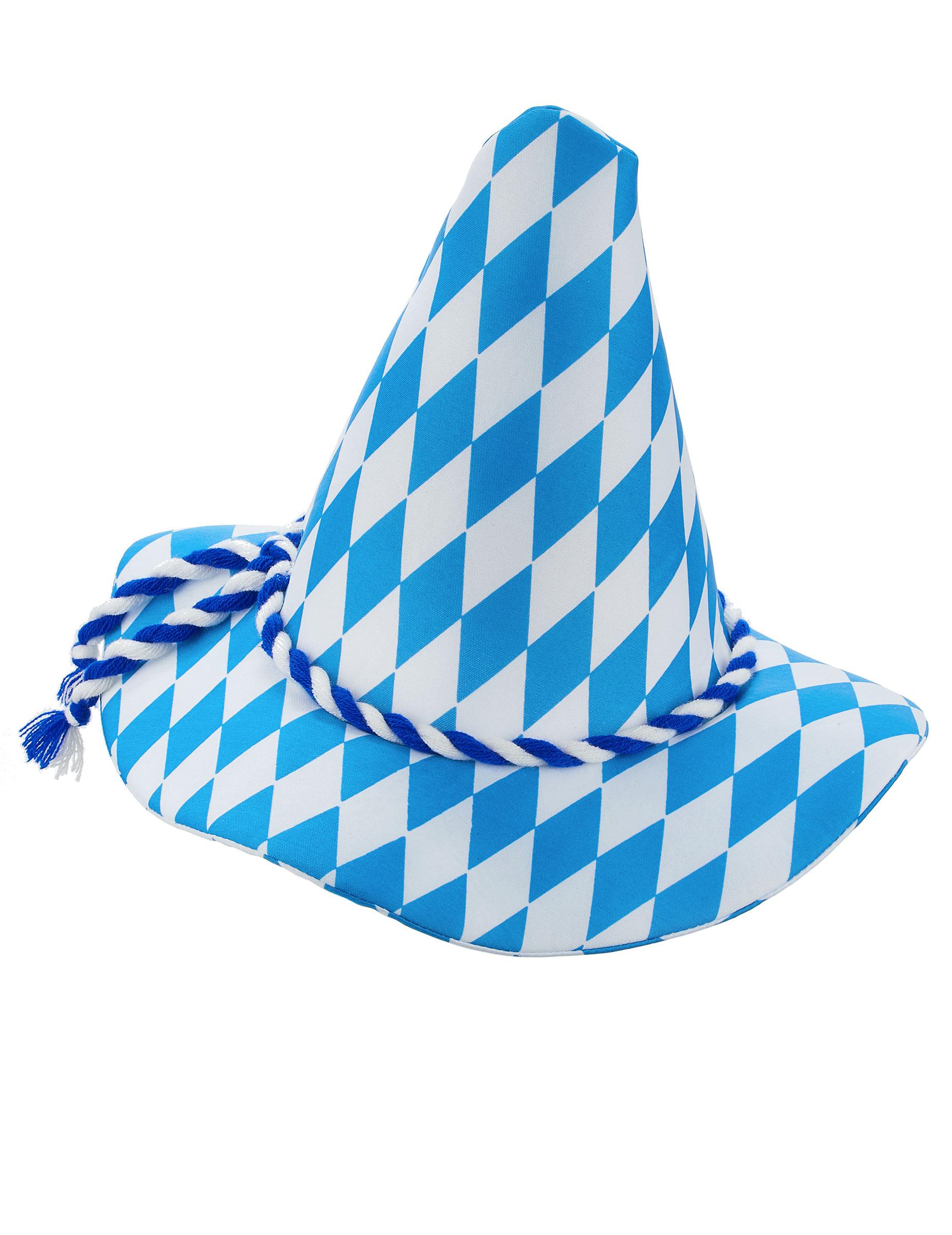 #Bayern-Hut für Erwachsene blau-weiß#