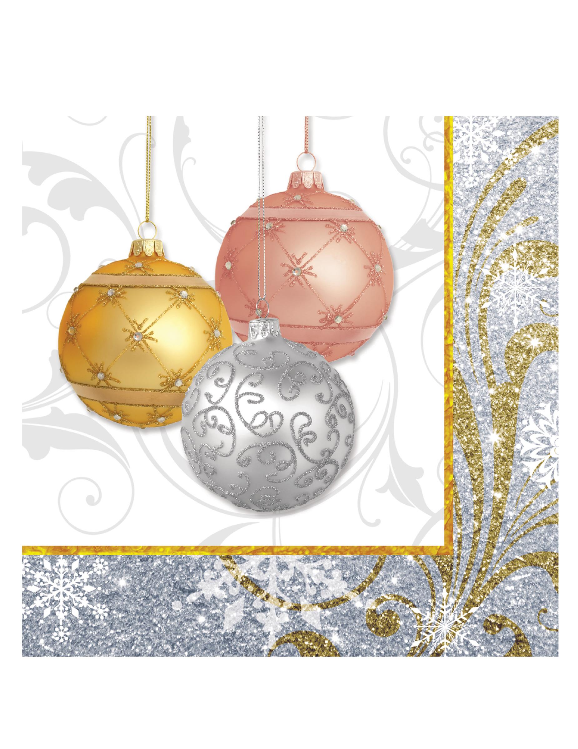 16 zarte weihnachtsservietten partydeko und g nstige faschingskost me vegaoo. Black Bedroom Furniture Sets. Home Design Ideas