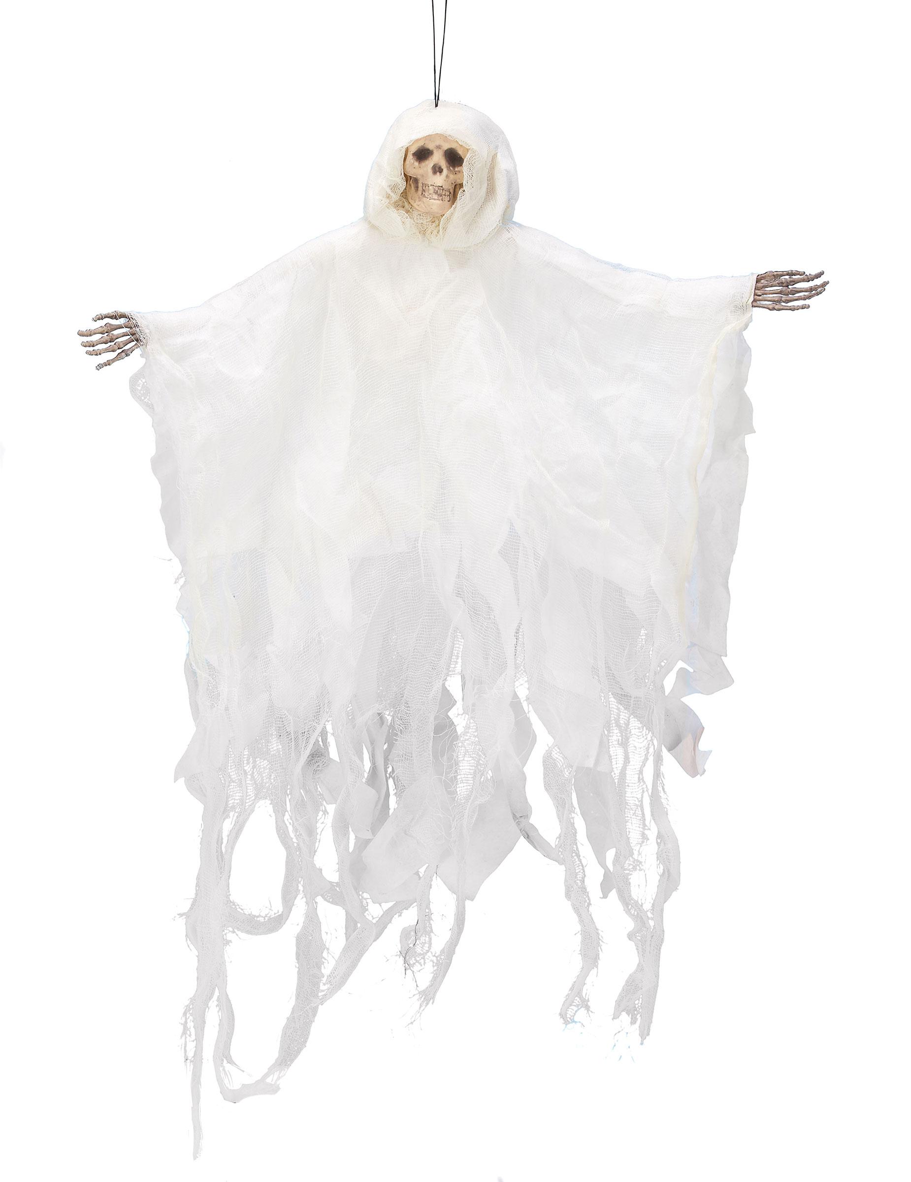 halloween dekoration wei es skelett zum aufh ngen 50 cm. Black Bedroom Furniture Sets. Home Design Ideas