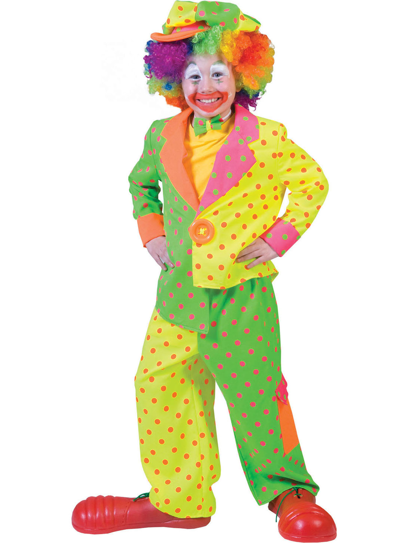 kunterbuntes clowns kost m f r kinder. Black Bedroom Furniture Sets. Home Design Ideas