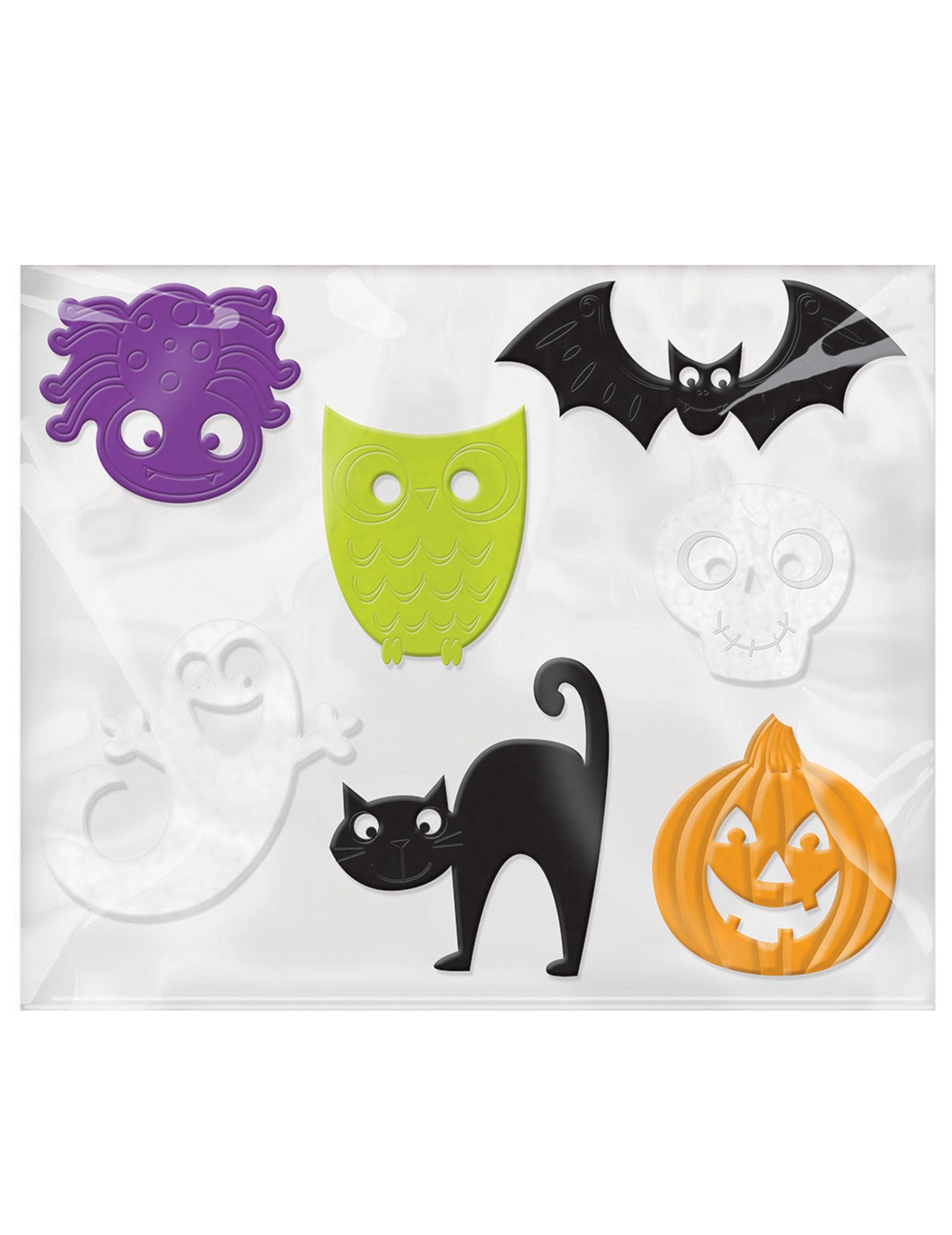 7 Teilige Halloween Fensterdeko Partydeko Und Gunstige