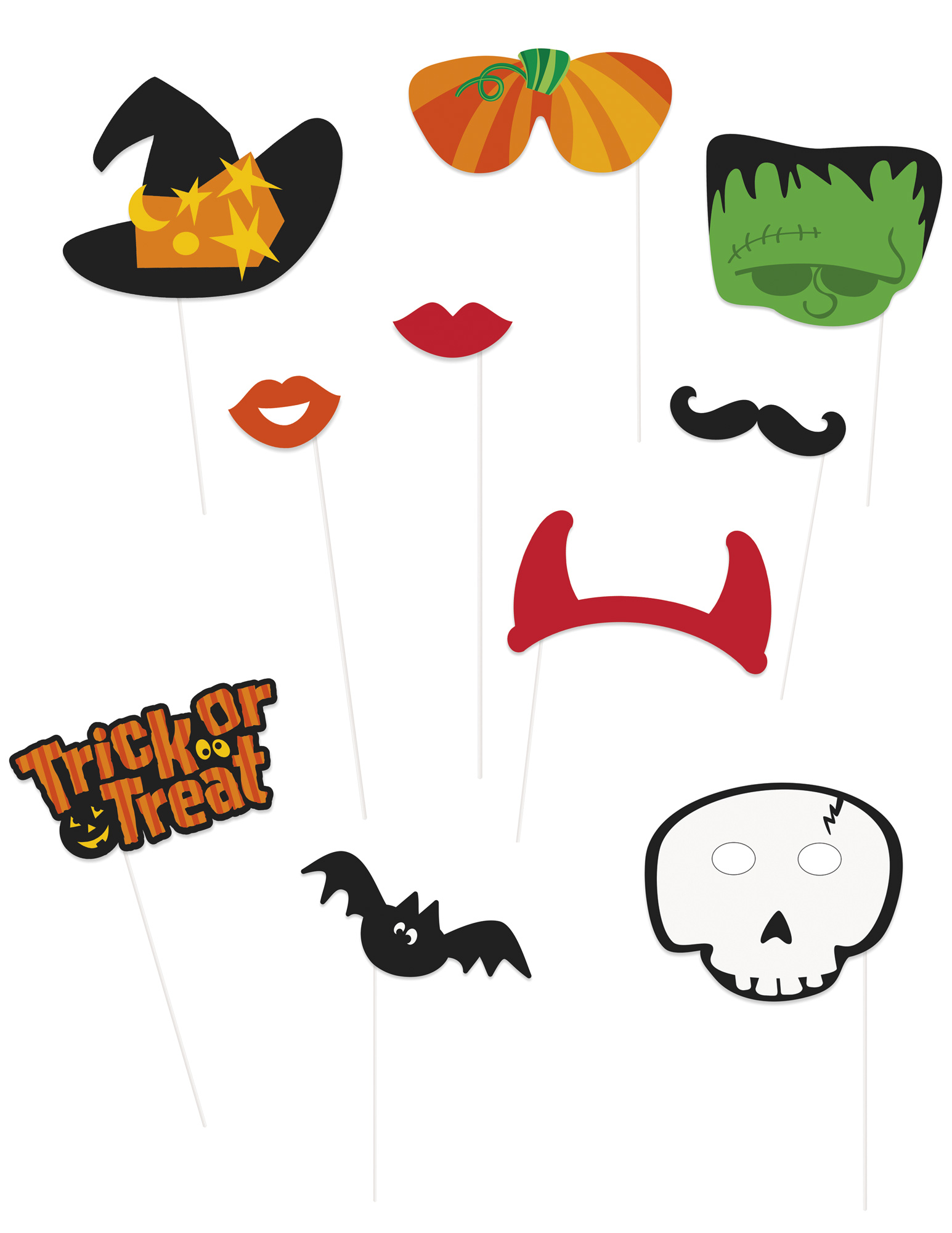 #Photobooth Set Halloween#