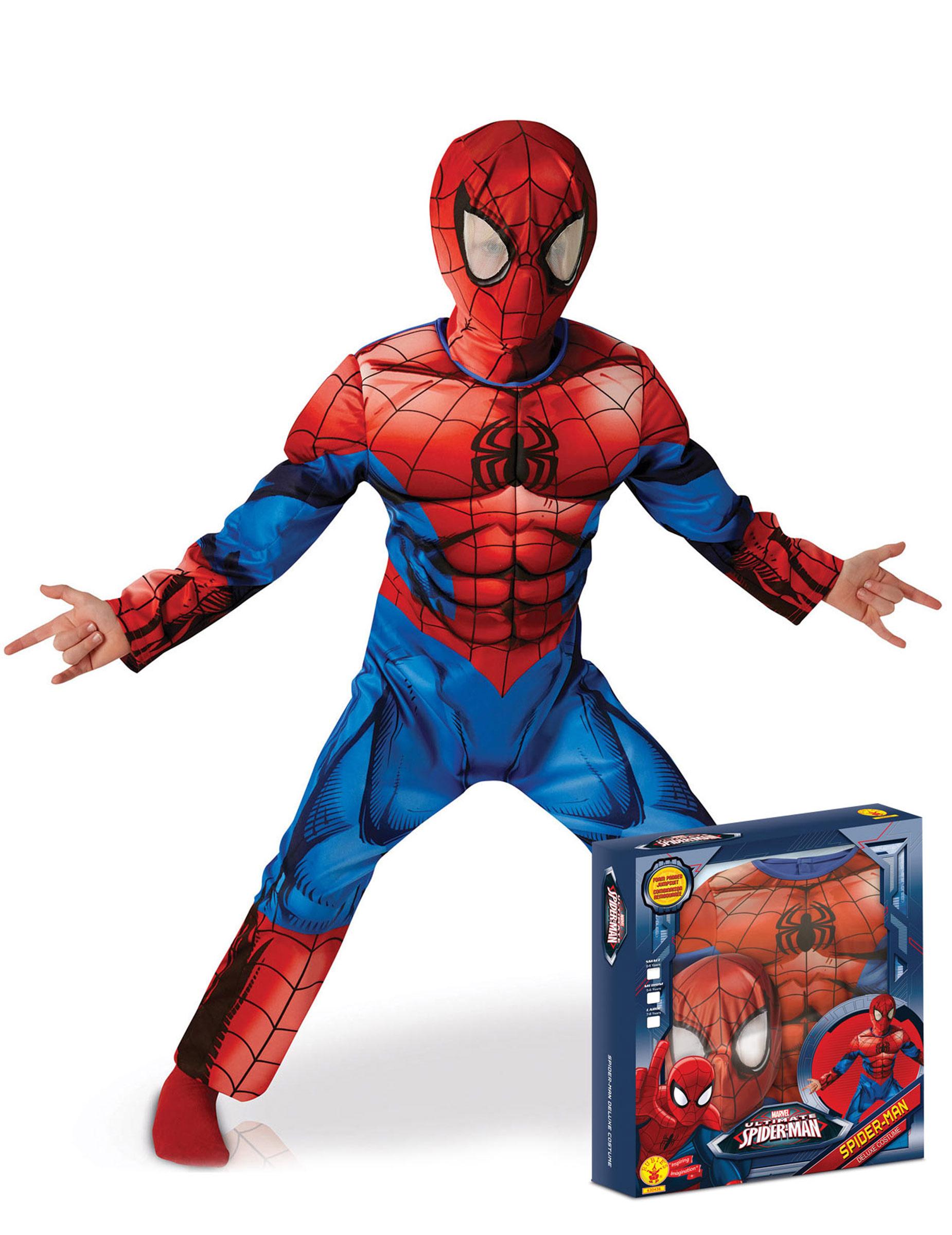 Ultimate Spiderman Costume Kids
