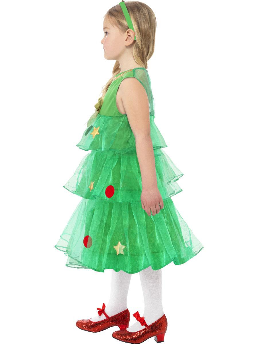 Kleid Tannenbaum.Tannenbaum Kostüm Für Mädchen