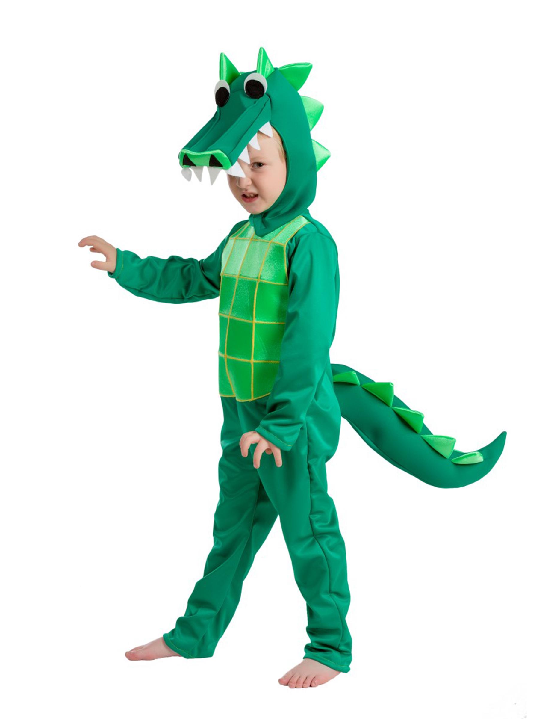 Krokodil Dino Kostüm Krokodilkostüm Kinder