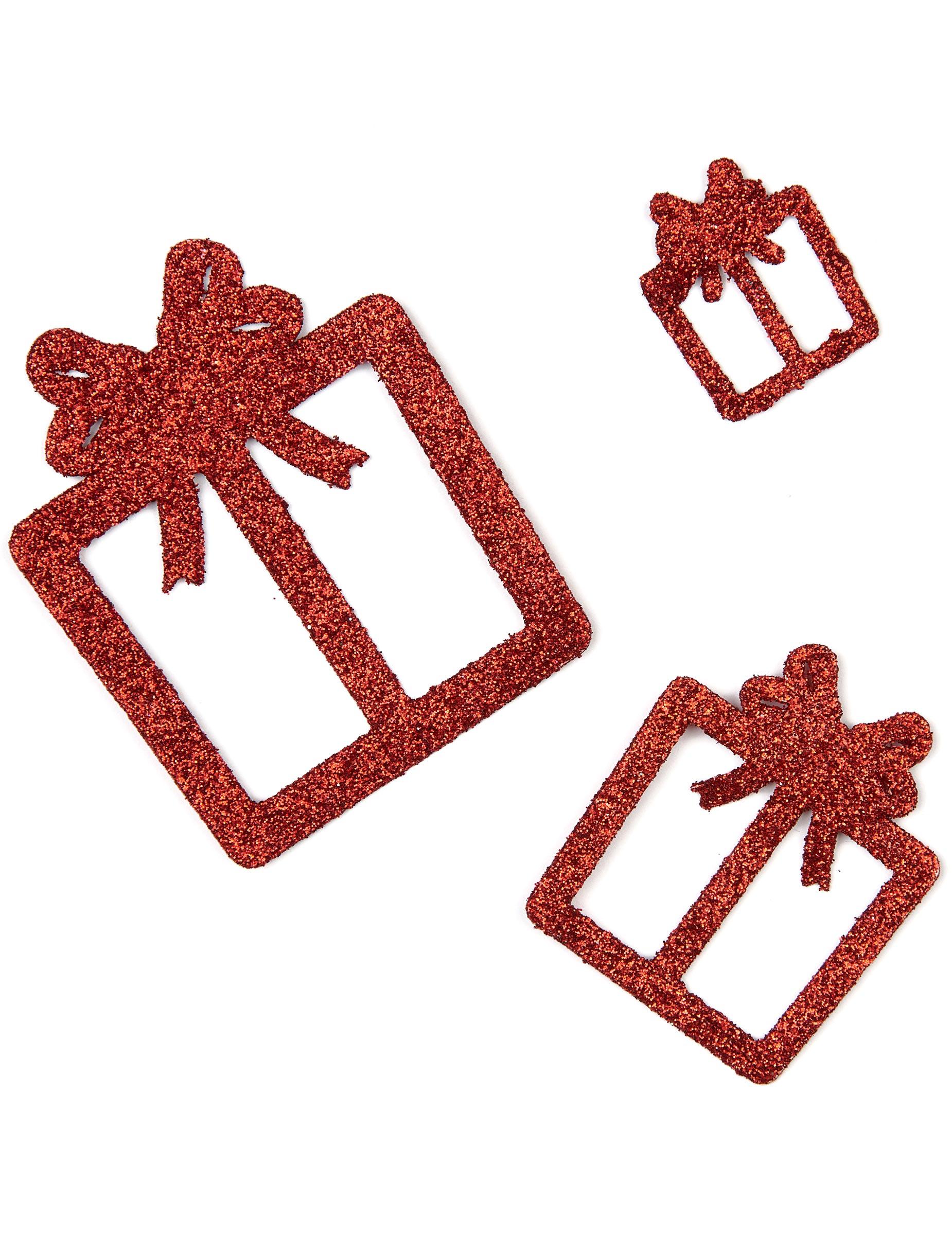 6 glitzernde deko geschenke rot partydeko und g nstige. Black Bedroom Furniture Sets. Home Design Ideas