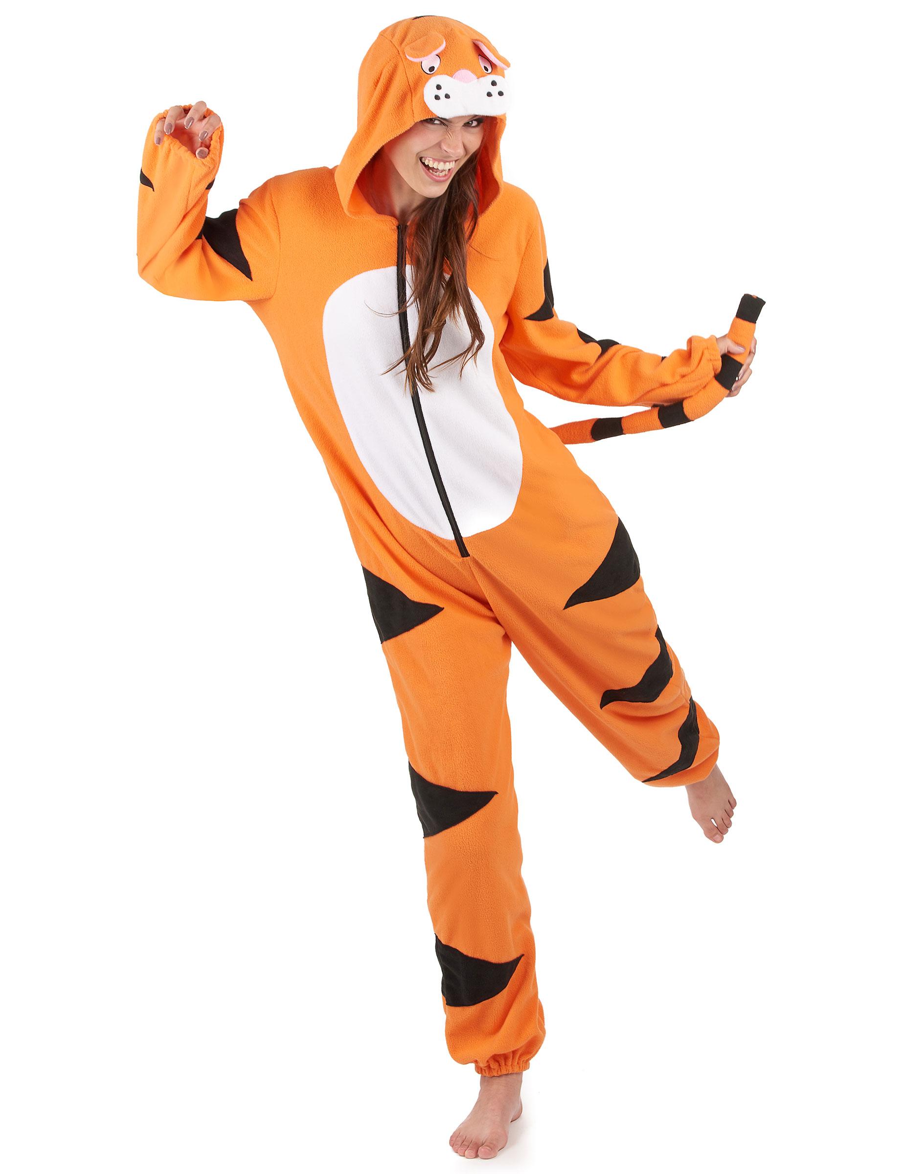 Weiches Tiger Kostum Fur Damen