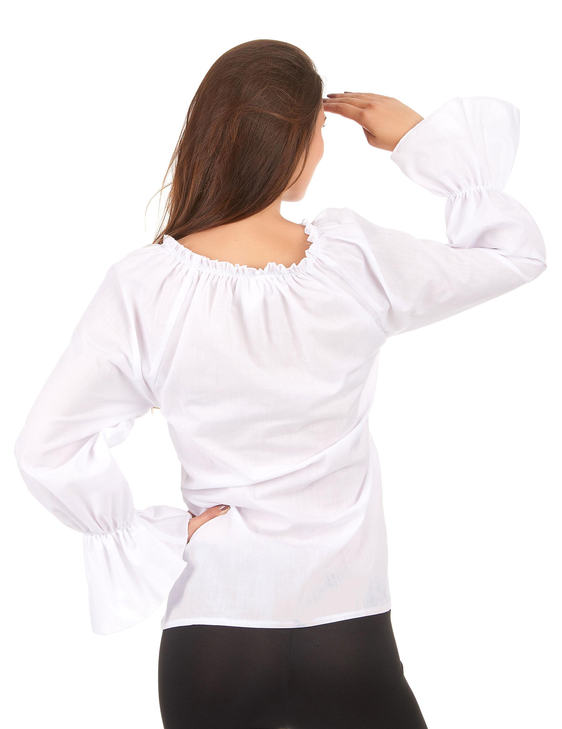 b54cffb52c28 Weiße Bluse für Damen  Kostüme für Erwachsene,und günstige ...