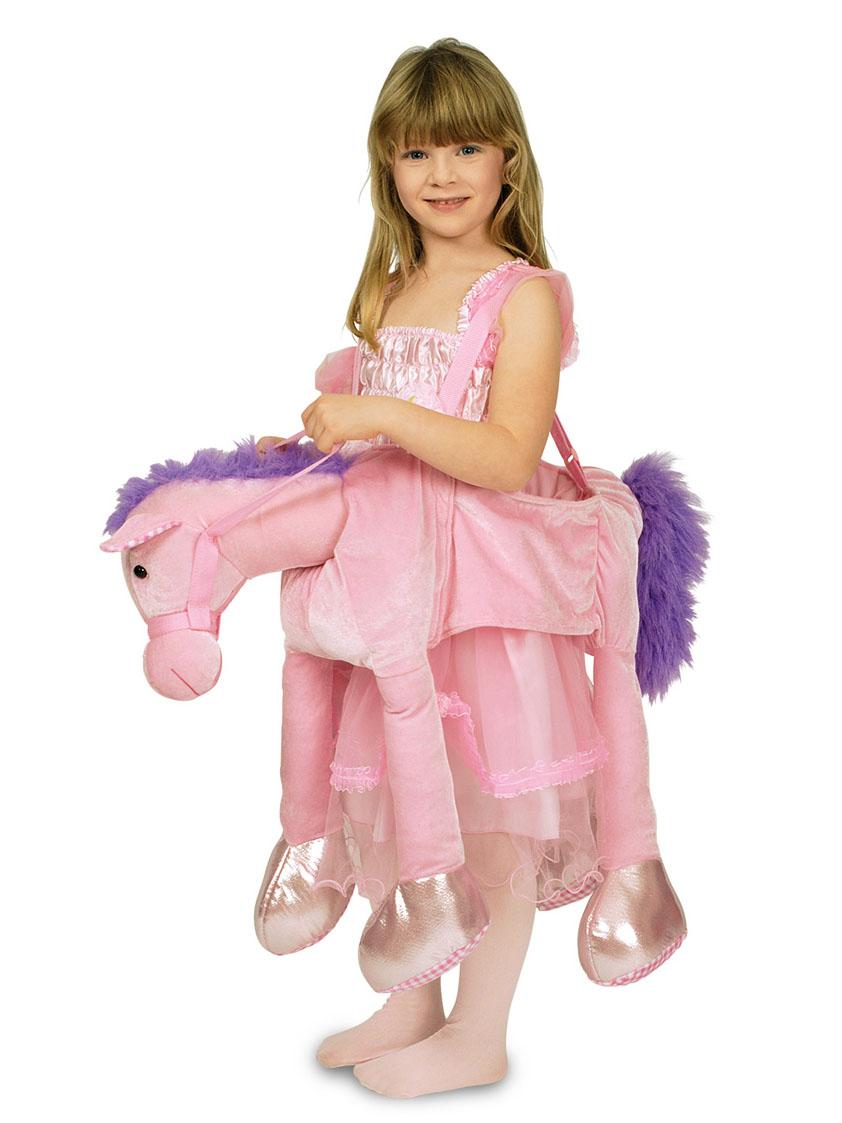 Niedliches Rosa Pferdekostu00fcm Fu00fcr Kinder
