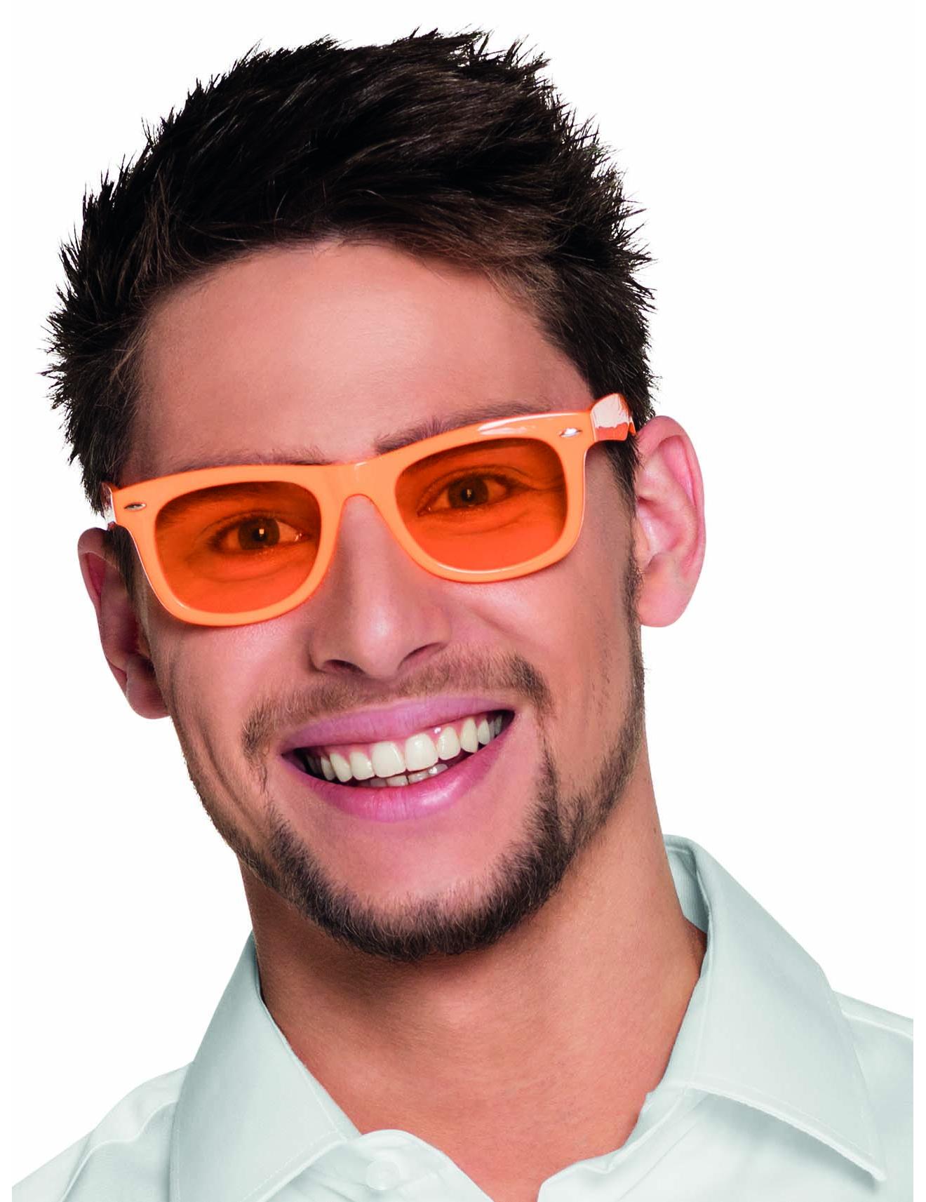 50er jahre party brille f r erwachsene orange accessoires und g nstige faschingskost me vegaoo. Black Bedroom Furniture Sets. Home Design Ideas