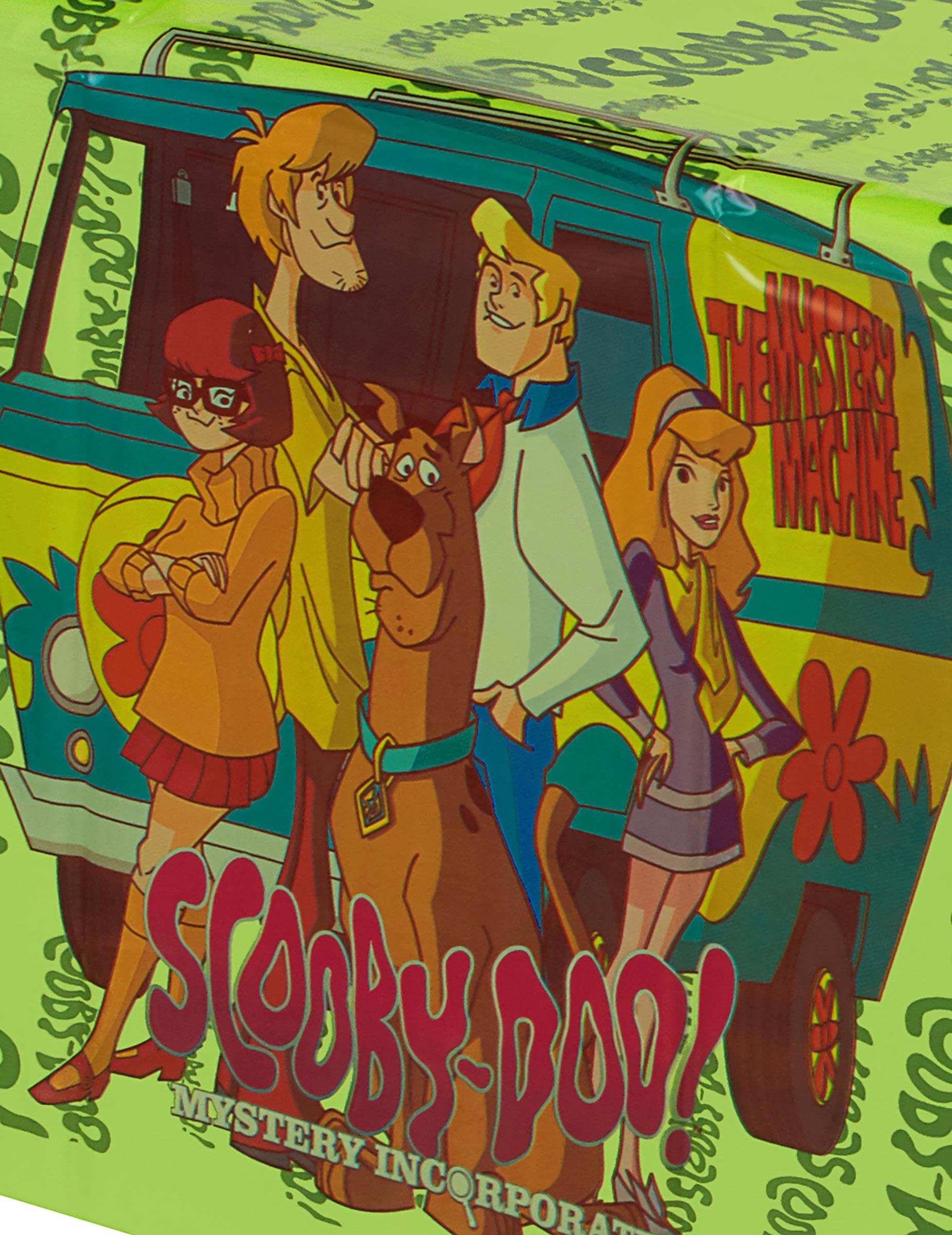 Tischdecke aus Plastik Scooby-Doo: Partydeko,und günstige ...