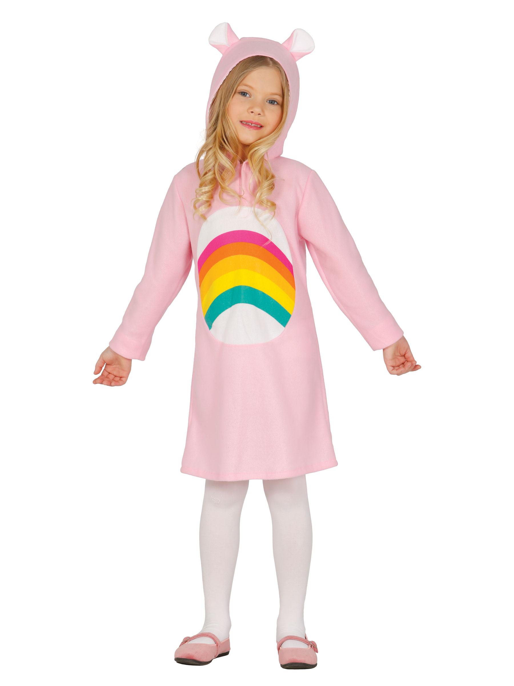 Zartes Regenbogen-Kostüm für Mädchen
