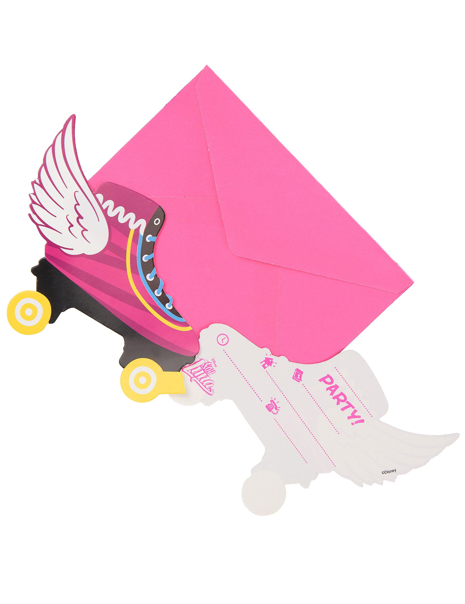 6 Soy Luna™ Einladungskarten