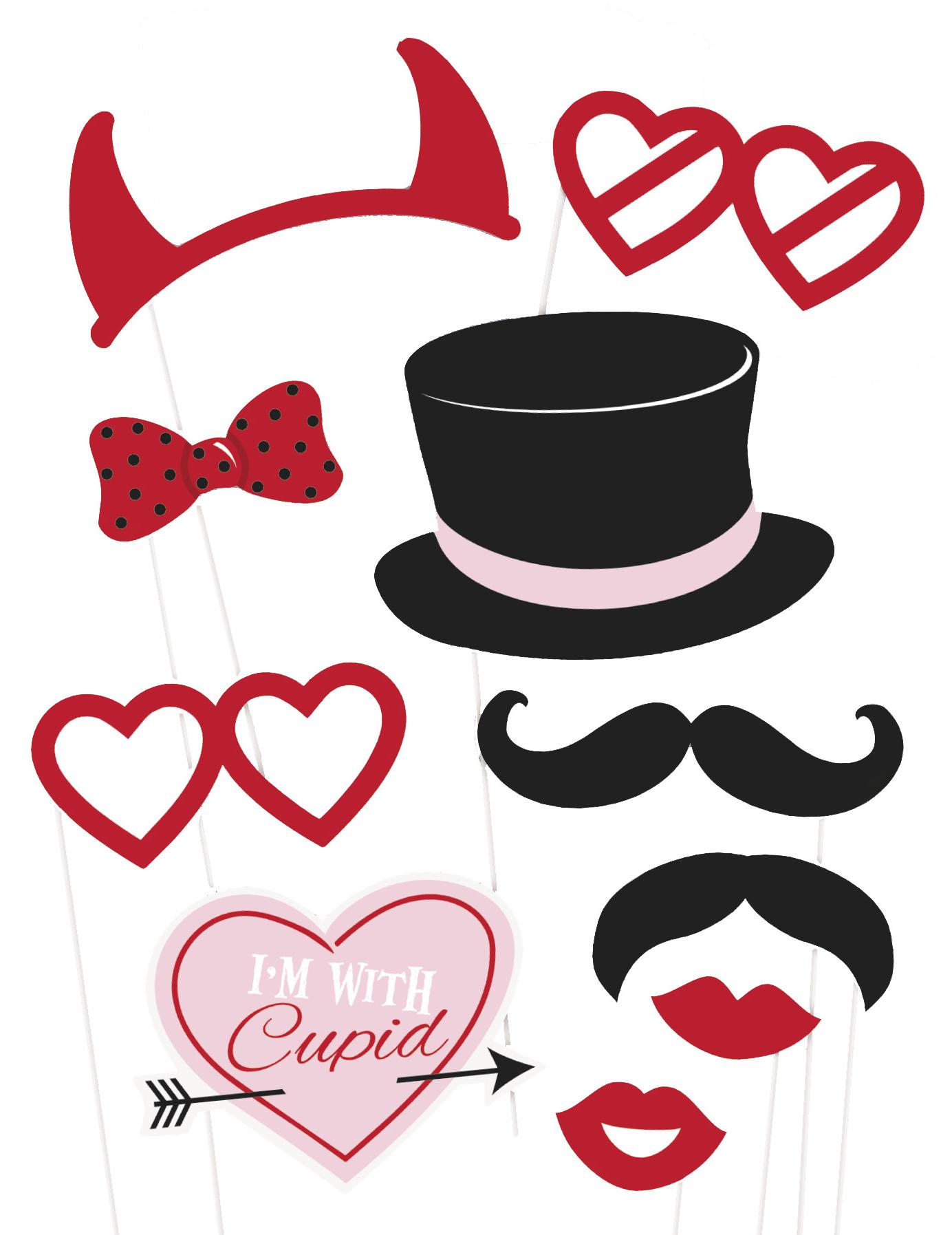 #Photobooth Set St Valentin#