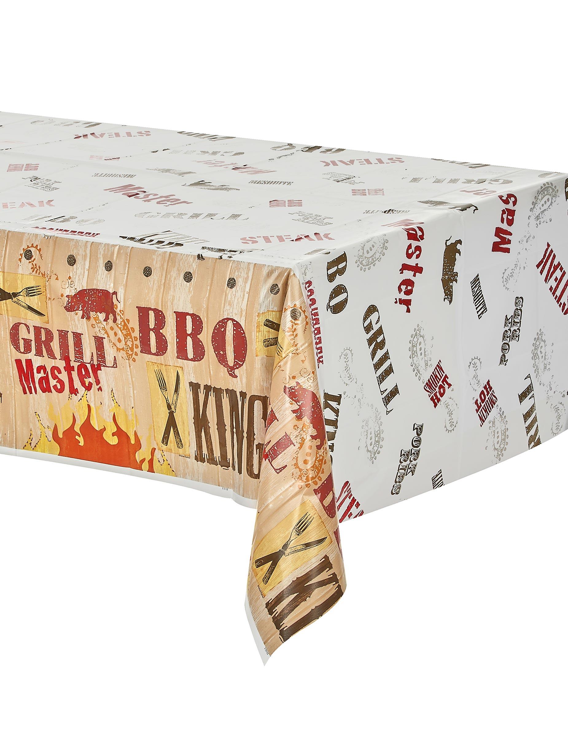 bbq tischdecke aus kunststoff x cm with gnstige kunststoff