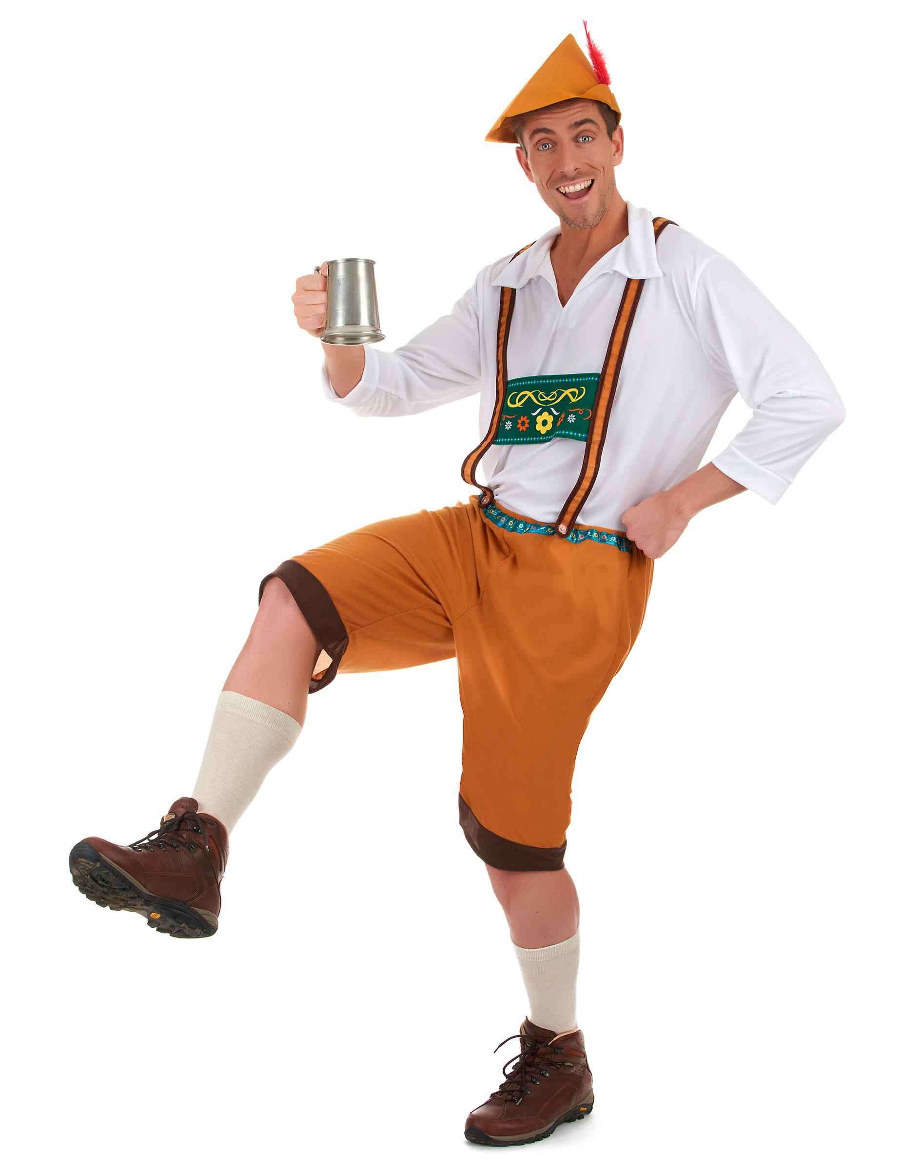 Bayer Kostüm mit Lederhose für Herren - L 161565