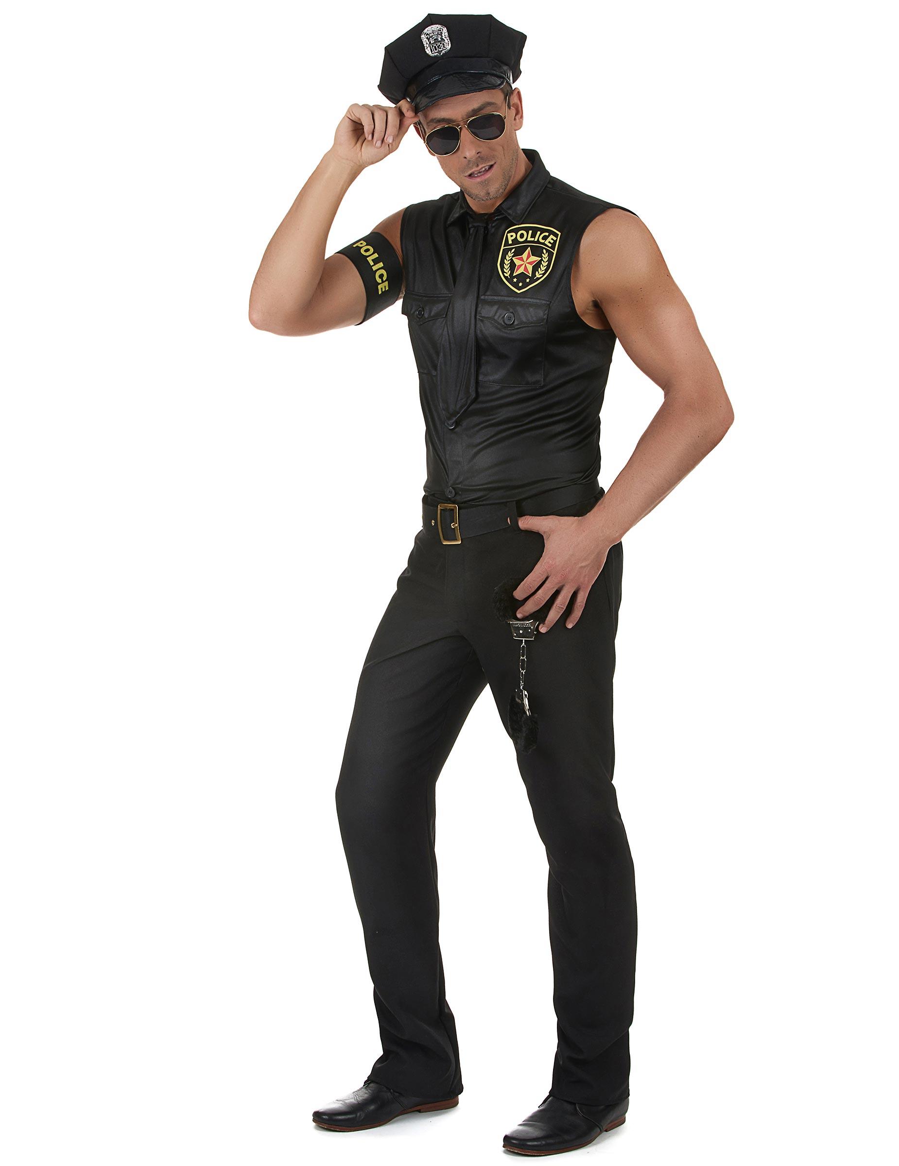 Polizisten Kostüm für Erwachsene