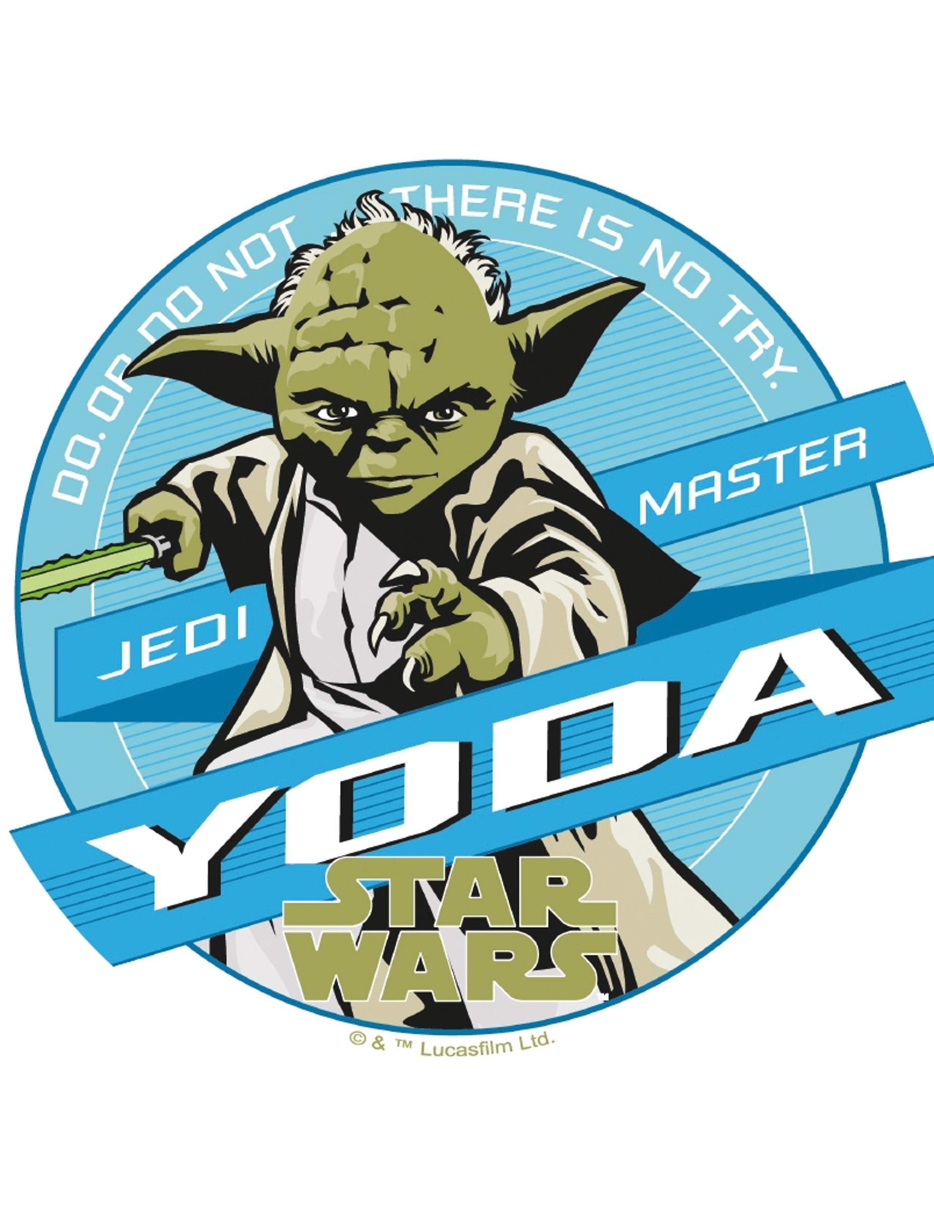 Tortenaufleger Yoda - Star Wars™ 20cm: Partydeko,und günstige ...