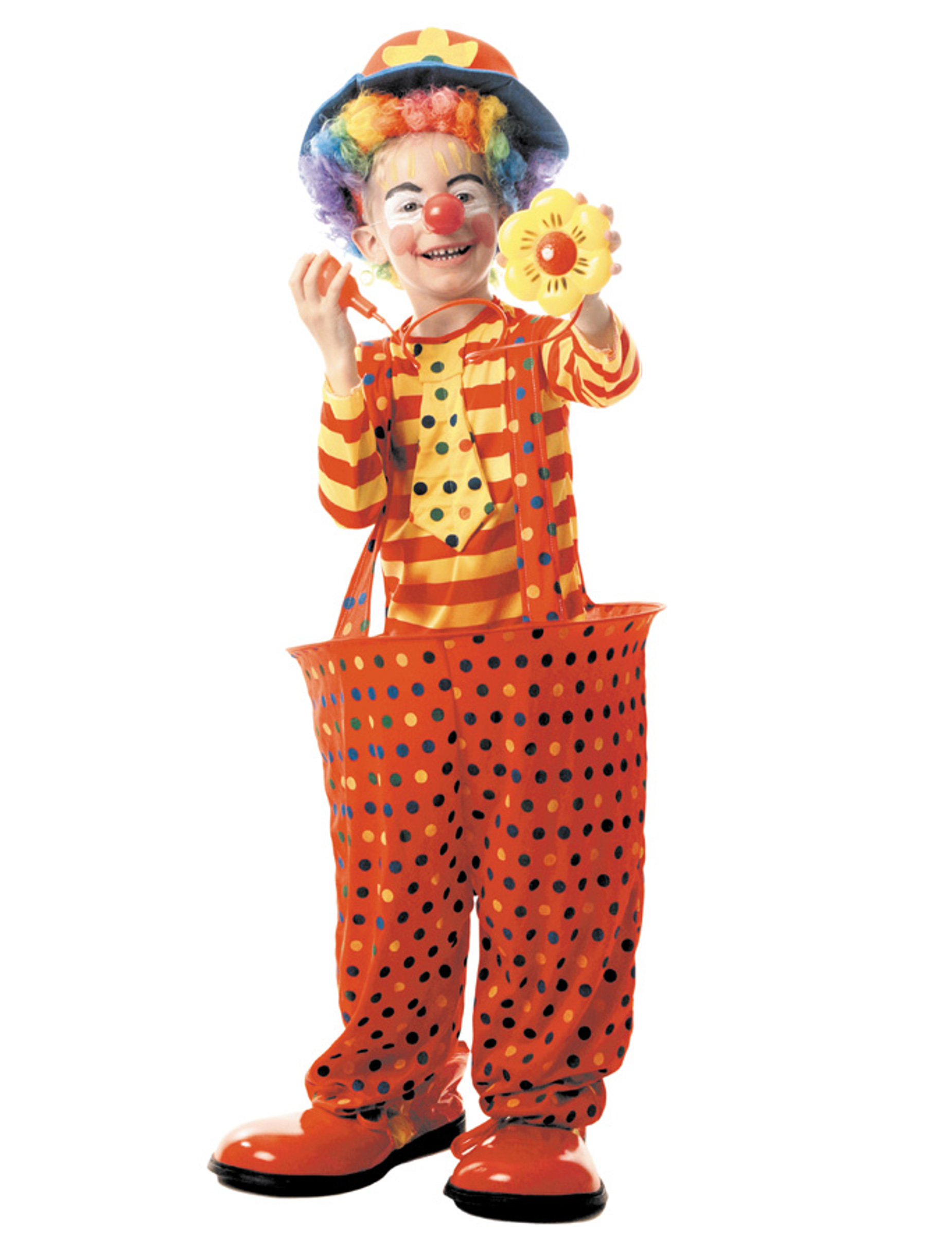 clown kost n mit reifen f r kinder kost me f r kinder und g nstige faschingskost me vegaoo. Black Bedroom Furniture Sets. Home Design Ideas