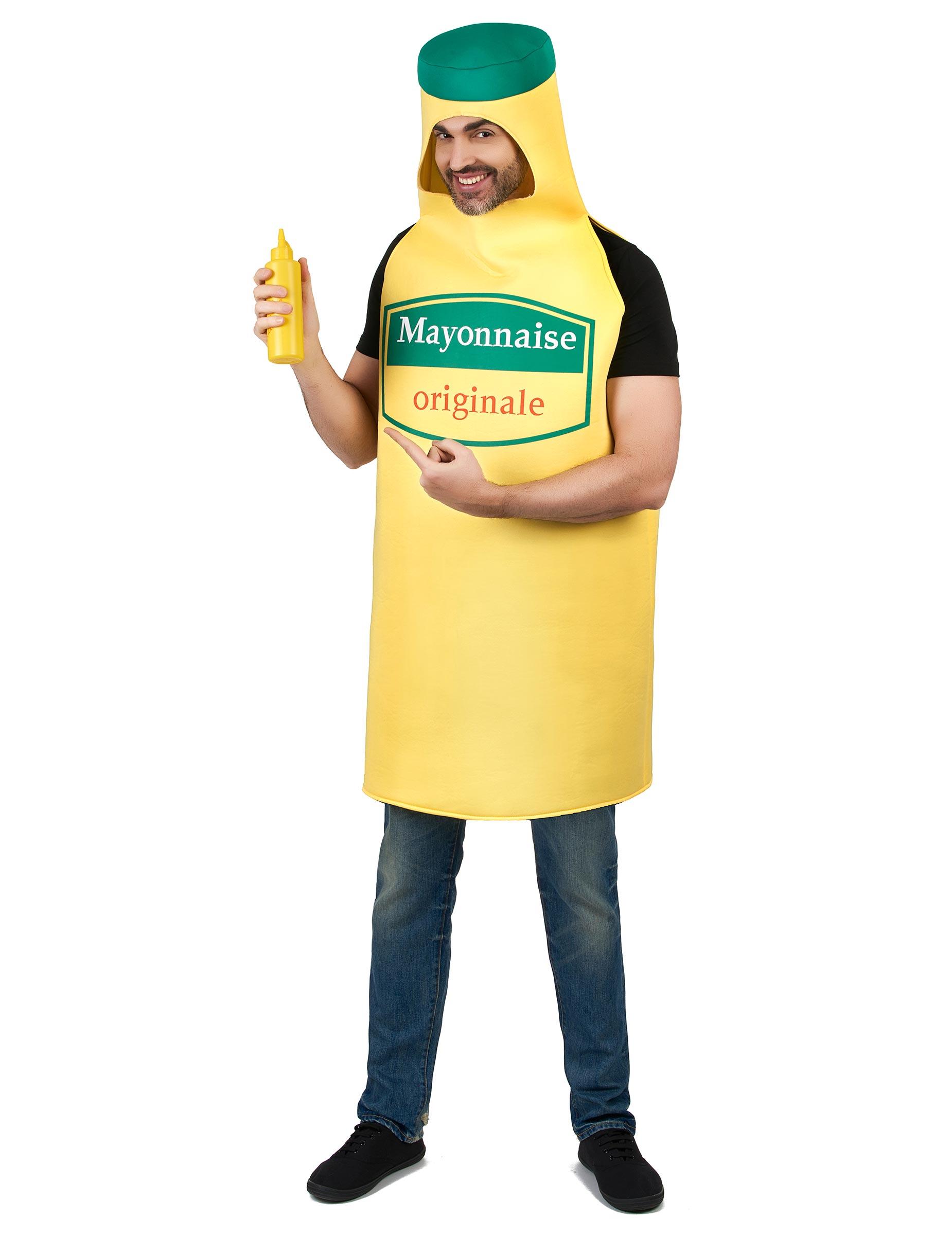 Kostüm Mayonnaise für Erwachsene 163082