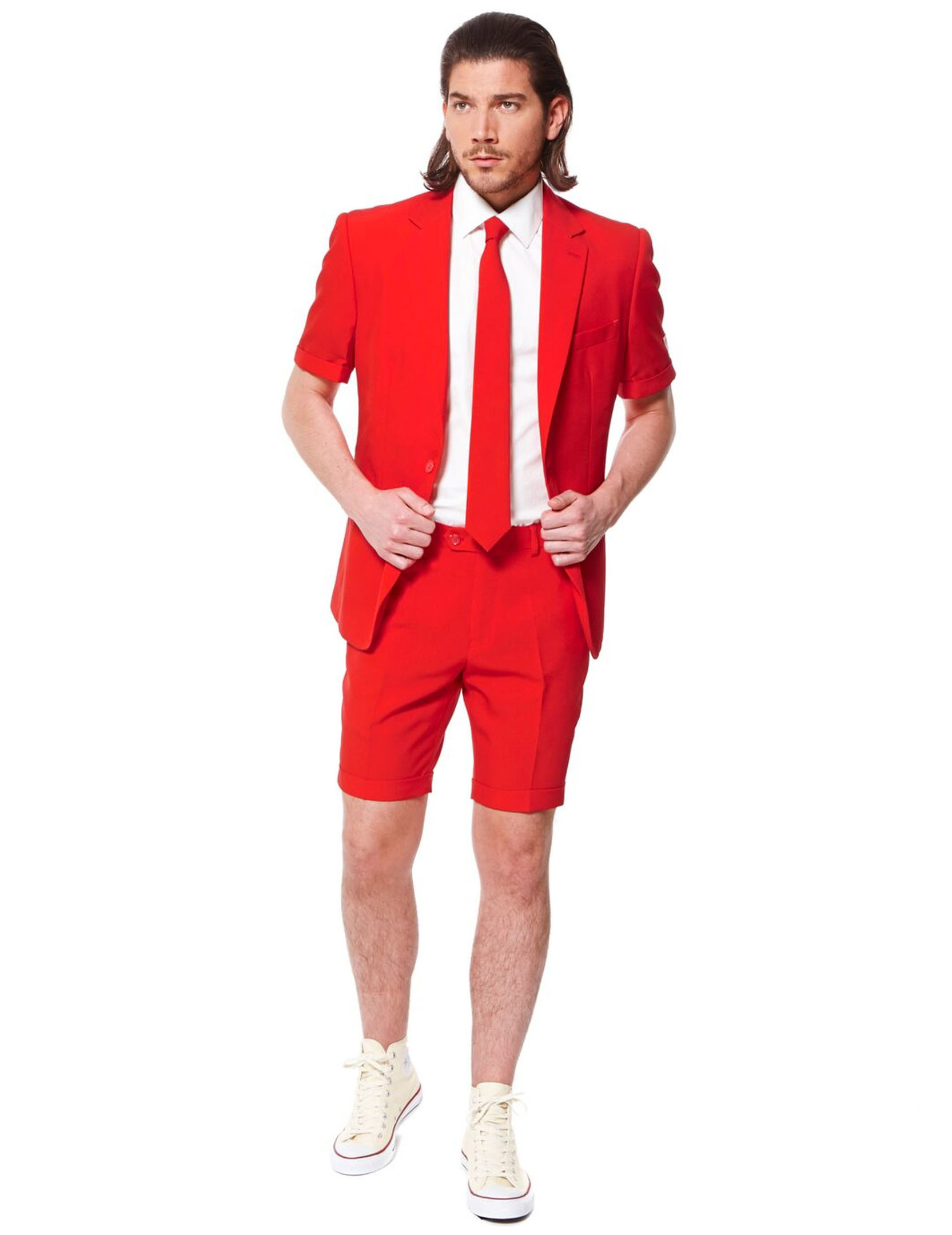 opposuits sommeranzug f r herren in rot. Black Bedroom Furniture Sets. Home Design Ideas