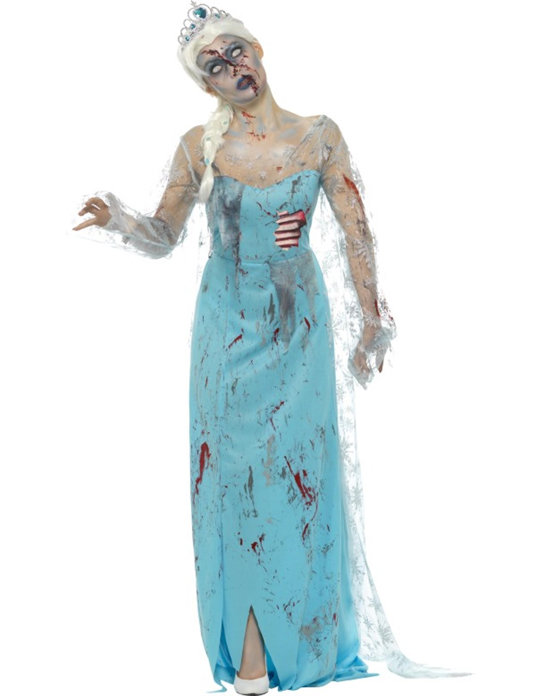 zombie halloween kost m gefrorene frau kost me f r erwachsene und g nstige faschingskost me. Black Bedroom Furniture Sets. Home Design Ideas