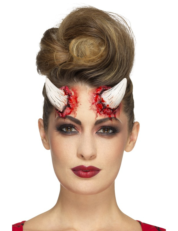 Latex Prothetische Hörner Des Teufels Erwachsene Halloween Schminke