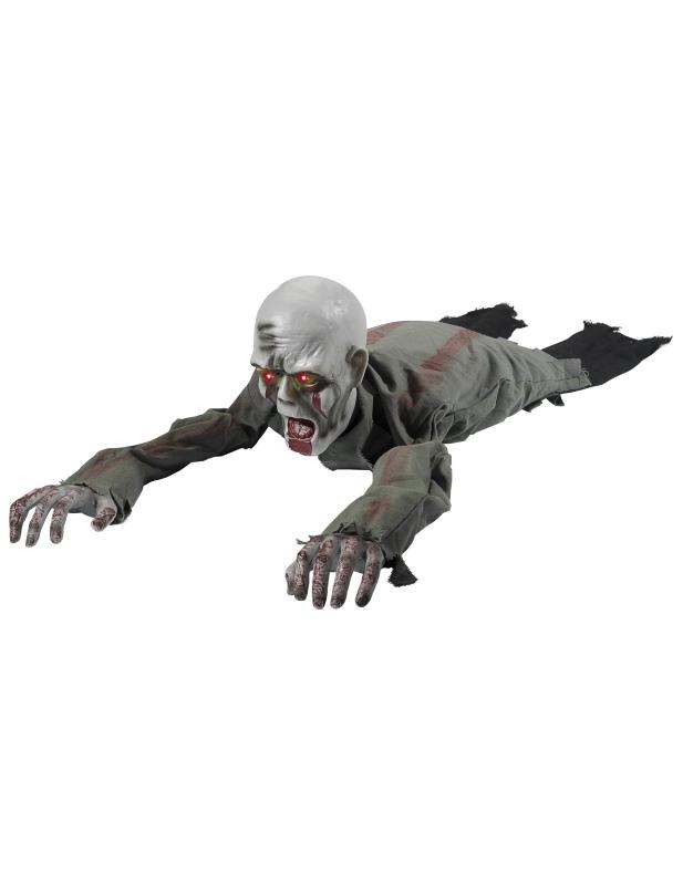 #Deko kriechender Zombie 110cm#