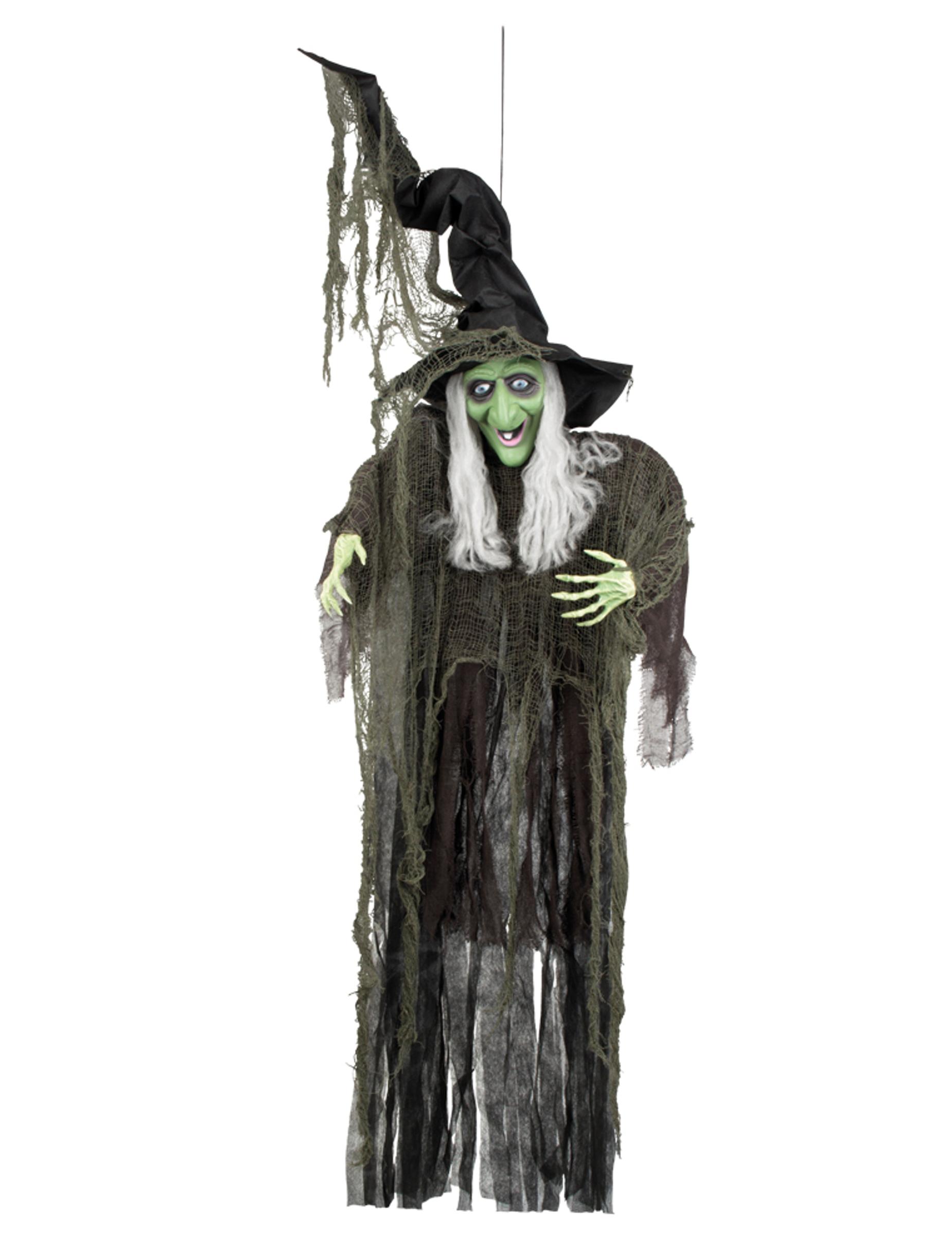 H Nge Dekoration Hexe Halloween 190 Cm Partydeko Und