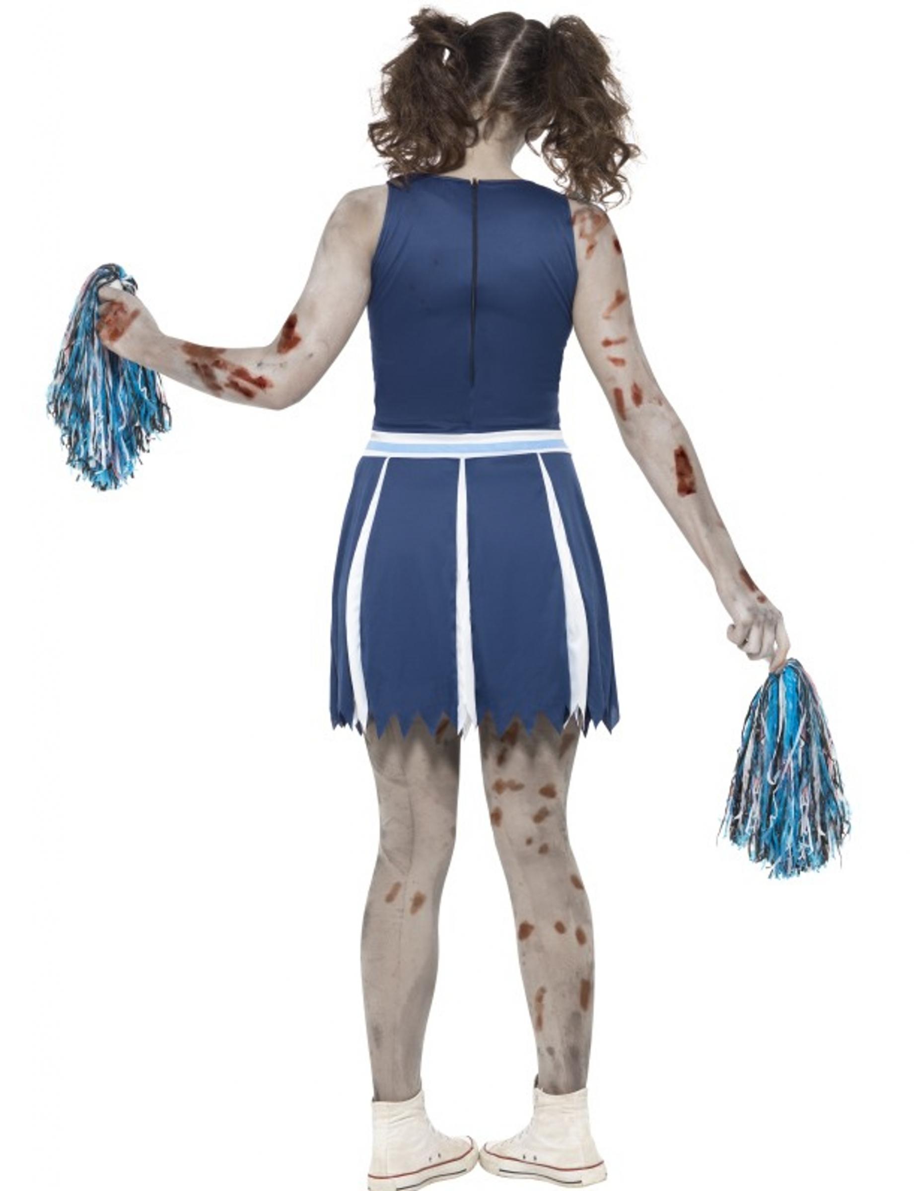 kost m cheerleader zombie halloween f r teenager kost me f r kinder und g nstige. Black Bedroom Furniture Sets. Home Design Ideas