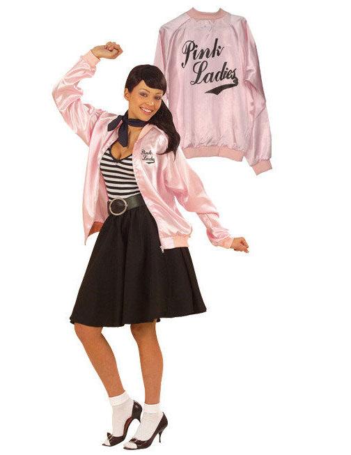 a122573739ca21 Rock'n'Roll rosa Jacke Damen: Kostüme für Erwachsene,und günstige ...