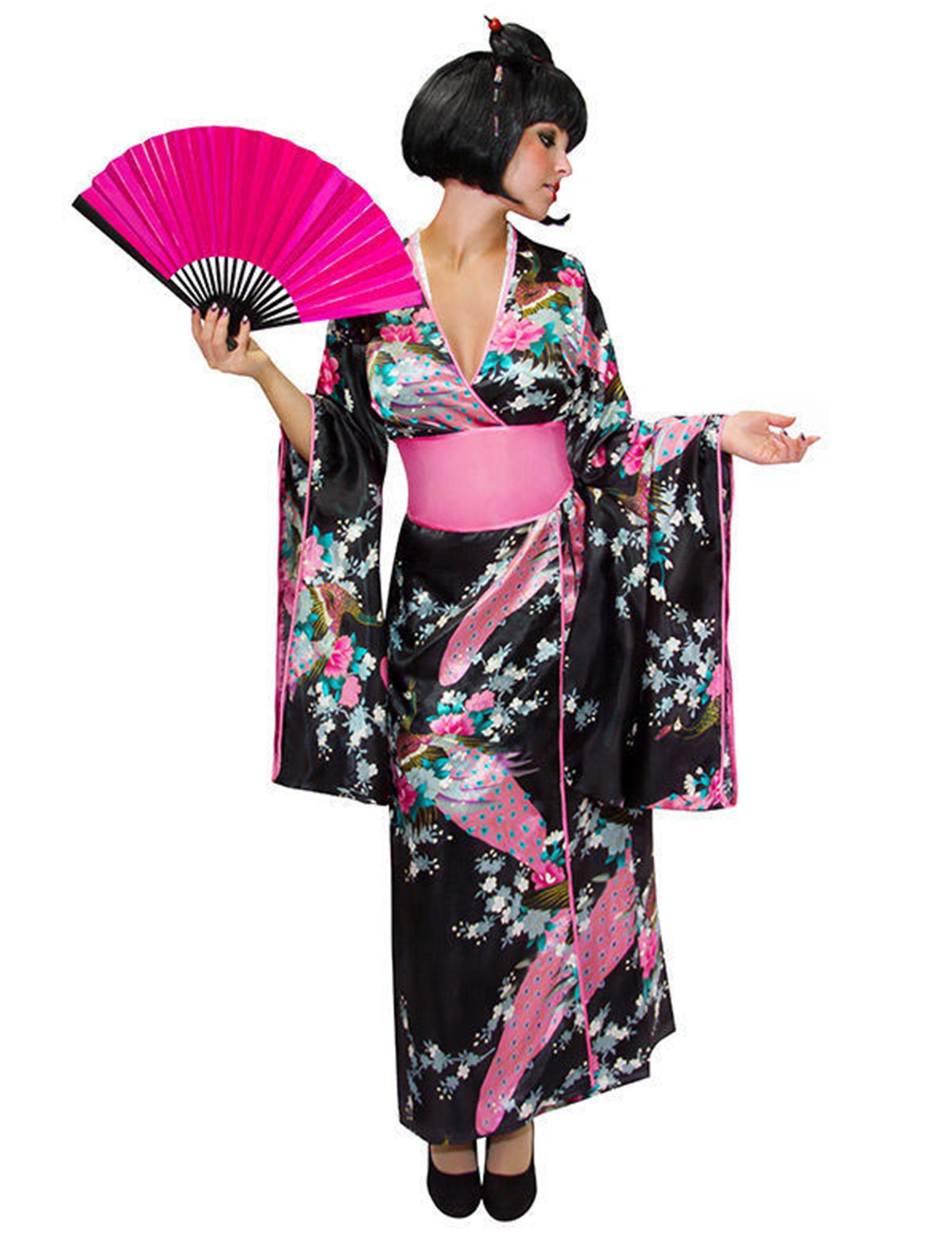 Japanisches Kimono Kostüm Damen - XS / S 200644