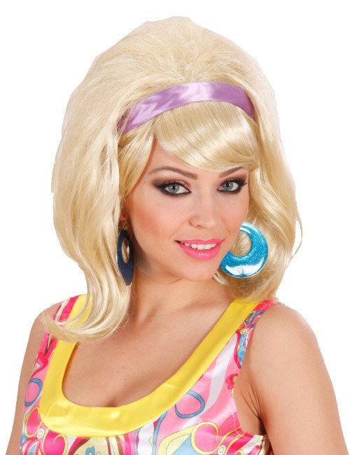 60er blonde Perücke 207563