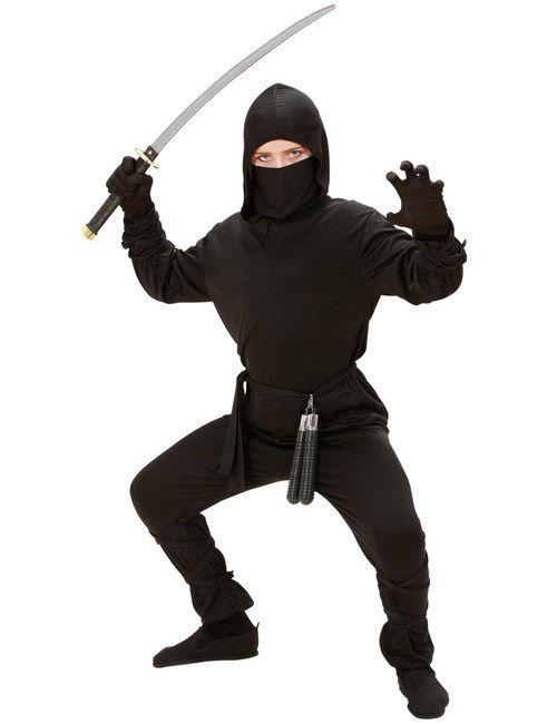 Ninja Kostüm Schwarz Kinder Kostüme Für Kinderund Günstige
