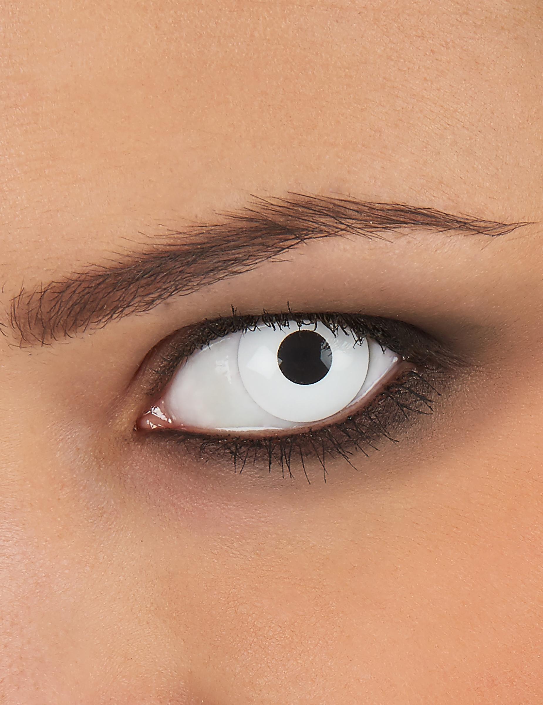 weisse kontaktlinsen f r erwachsene schminke und g nstige faschingskost me vegaoo. Black Bedroom Furniture Sets. Home Design Ideas