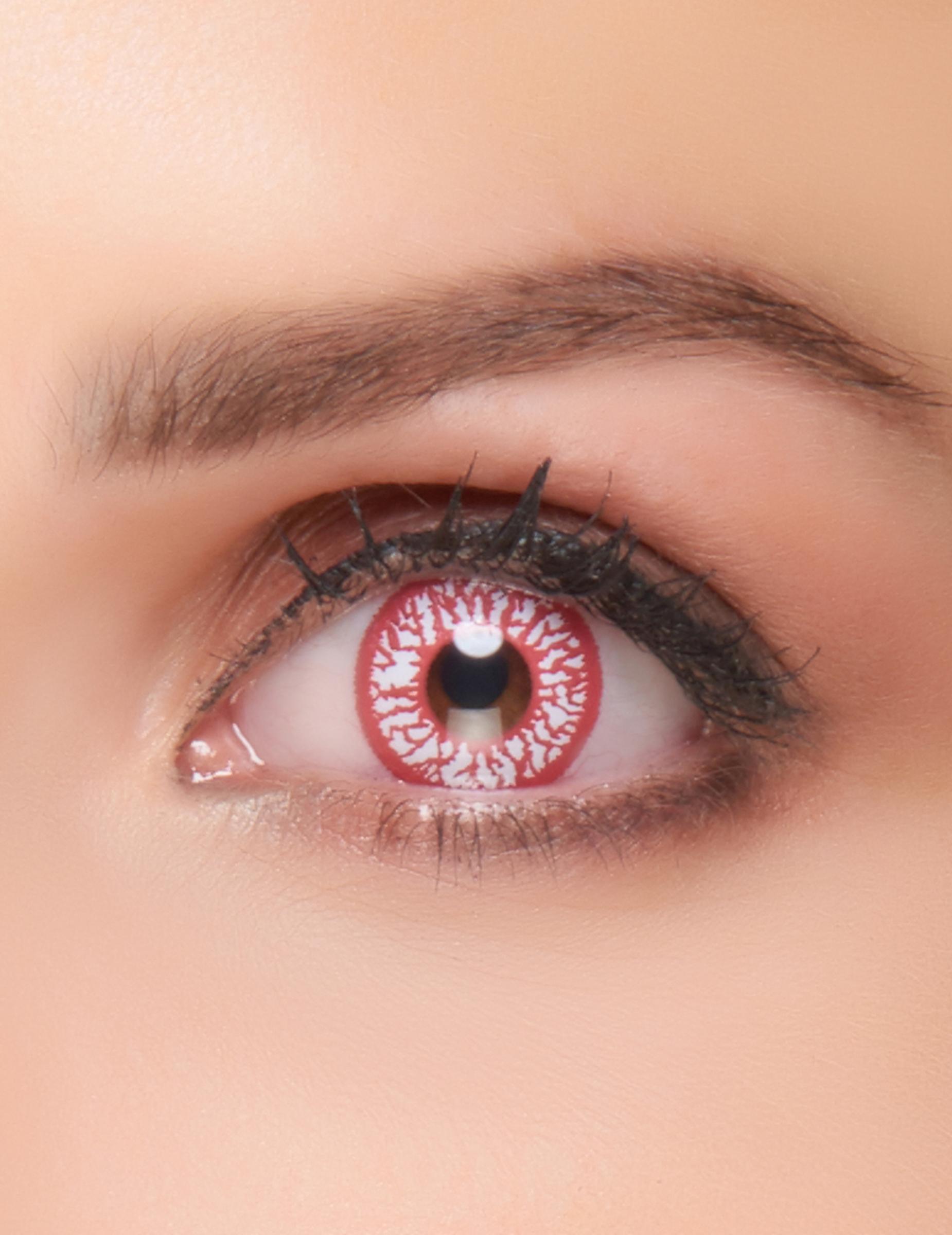 kontaktlinsen fantasie blutunterlaufen auge erwachsene. Black Bedroom Furniture Sets. Home Design Ideas