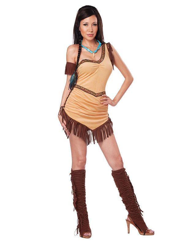Sexy Indianer Kostum Fur Damen Kostume Fur Erwachsene Und Gunstige