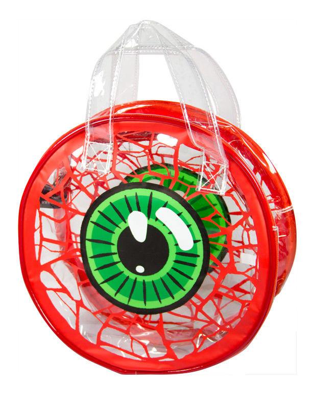 Transparente Augen Handtasche Kreepsville Halloween 245141