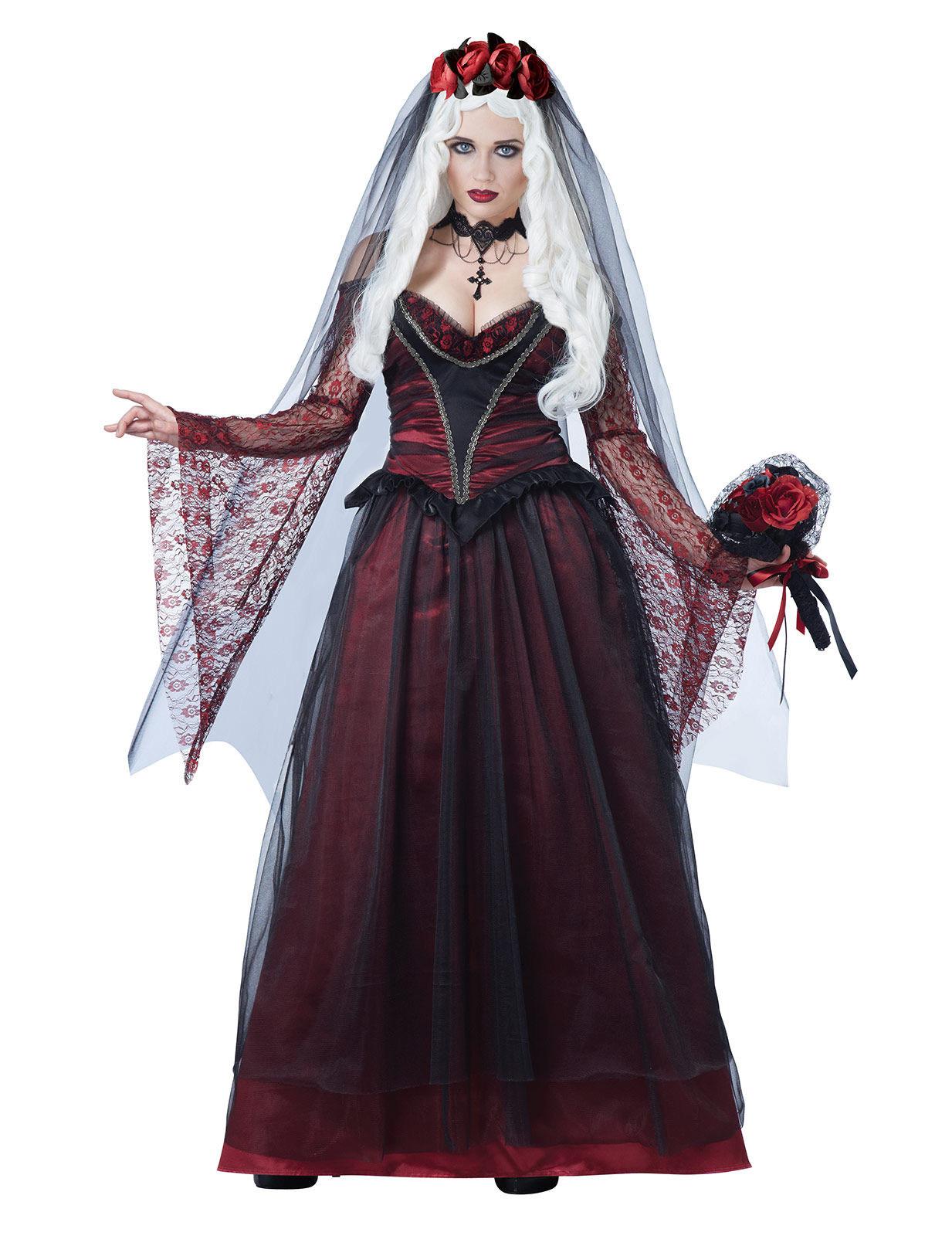 vampir braut kost m f r erwachsene. Black Bedroom Furniture Sets. Home Design Ideas