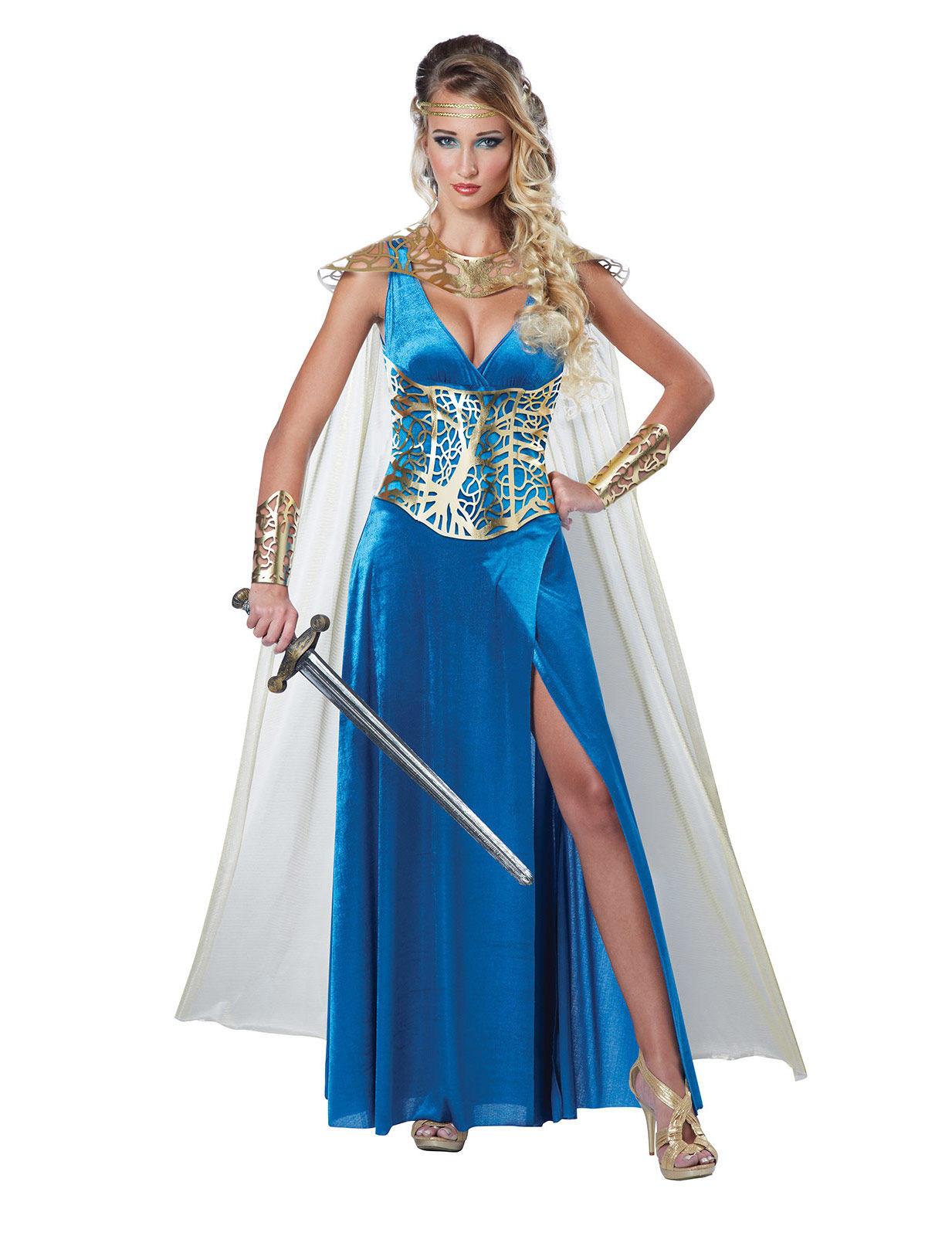 Mittelalterliche Kriegerin - Kostüm für Erwachsene