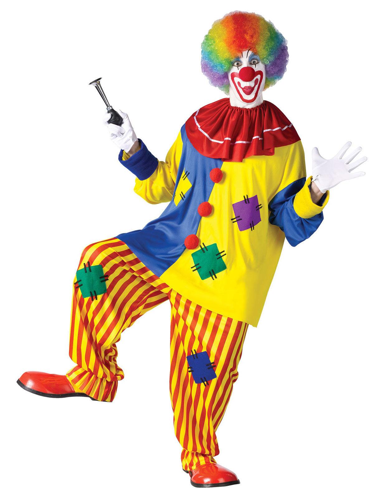 Rotes clown kost m erwachsene kost me f r erwachsene und - Circus joker wallpaper ...