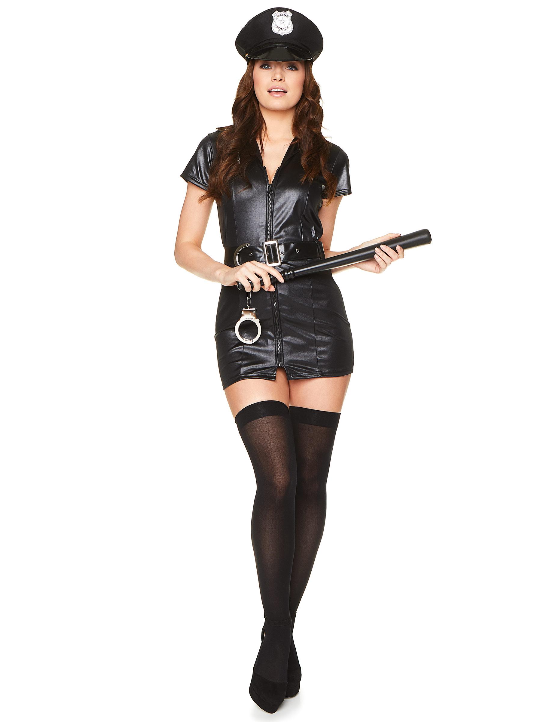 Polizistin sexy Kostüm für Damen - M 263498