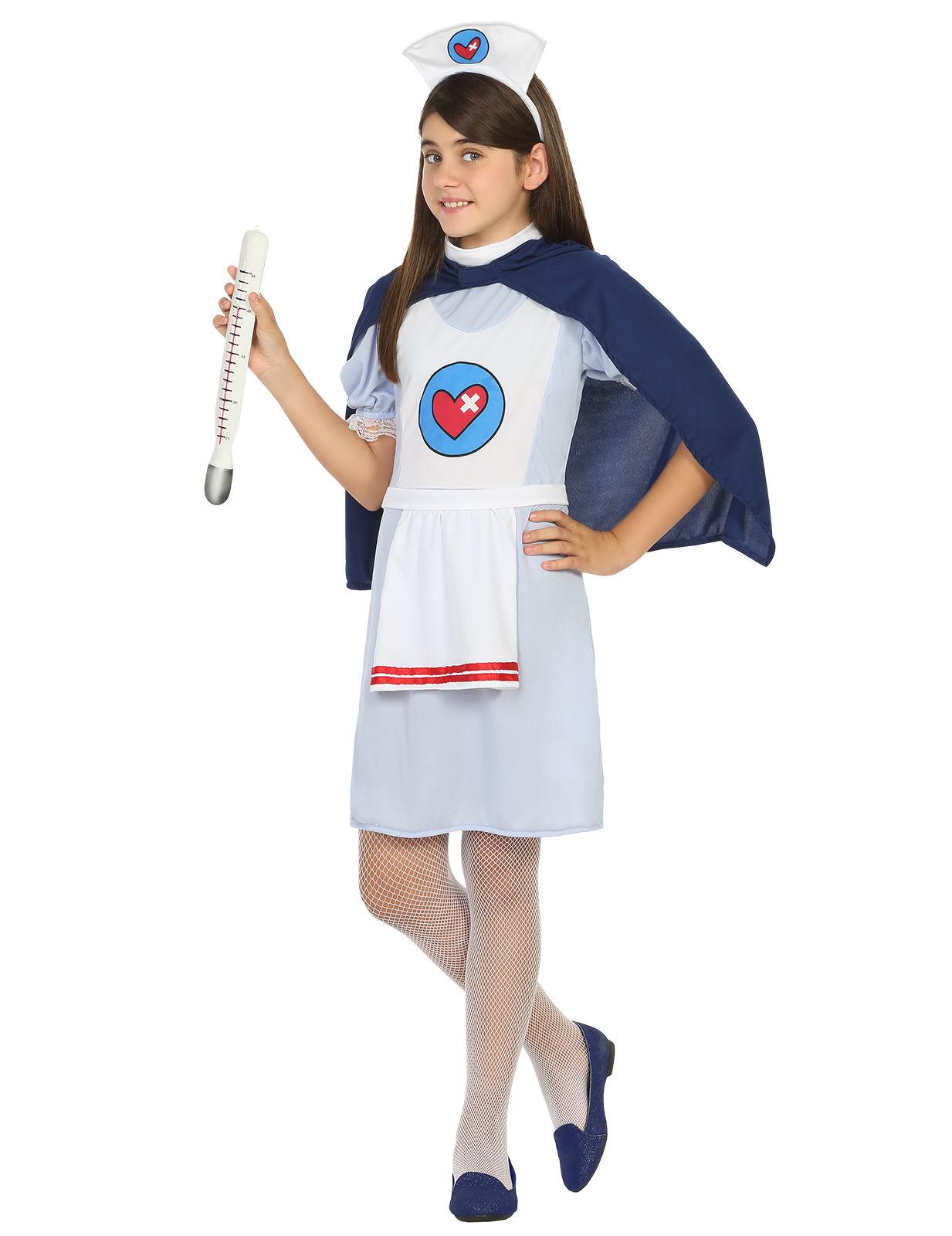 Krankenschwester Arztin Kostum Fur Madchen Kostume Fur Kinder